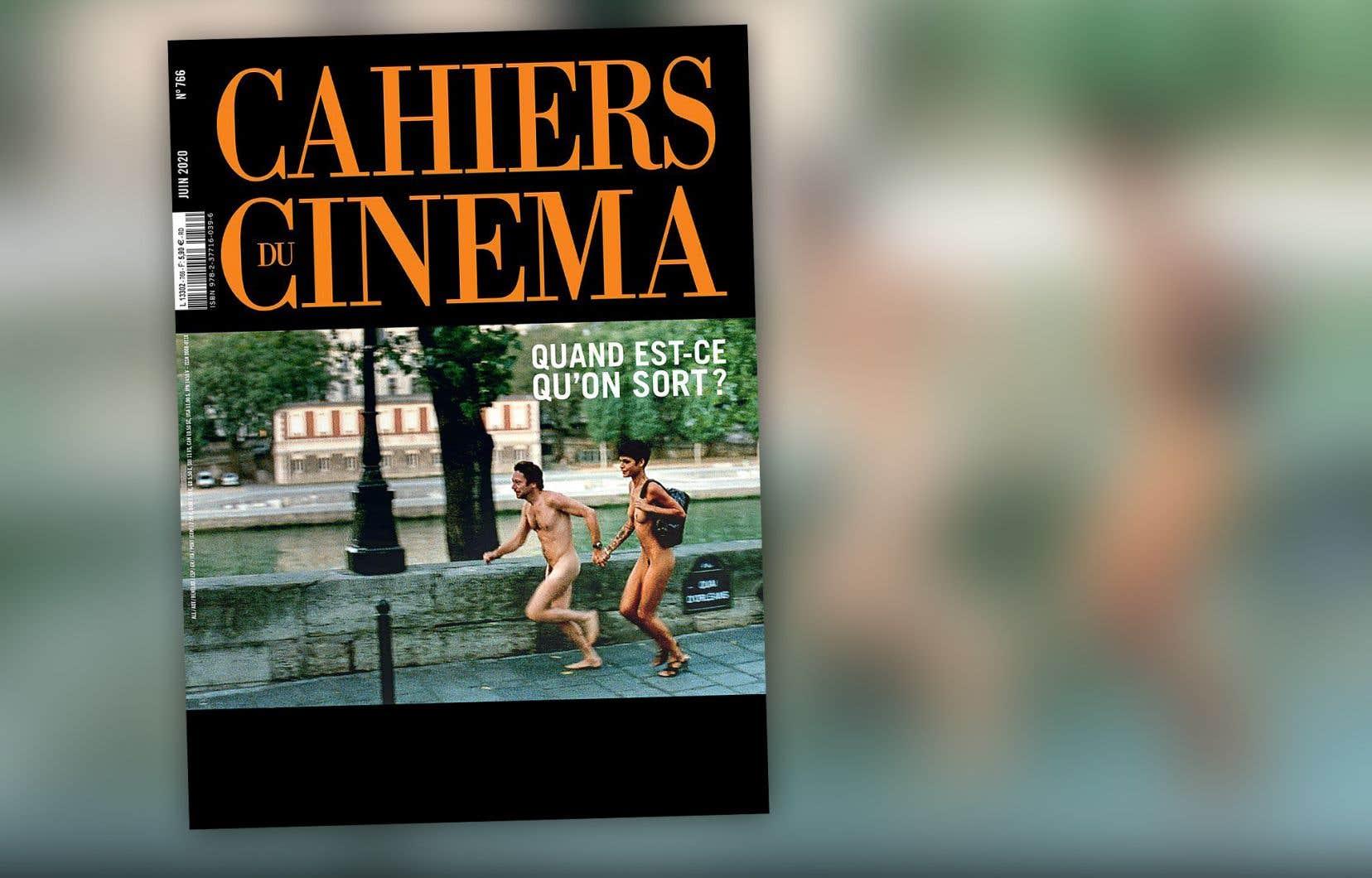 La page couverture de l'édition de juin 2020 des «Cahiers du cinéma»