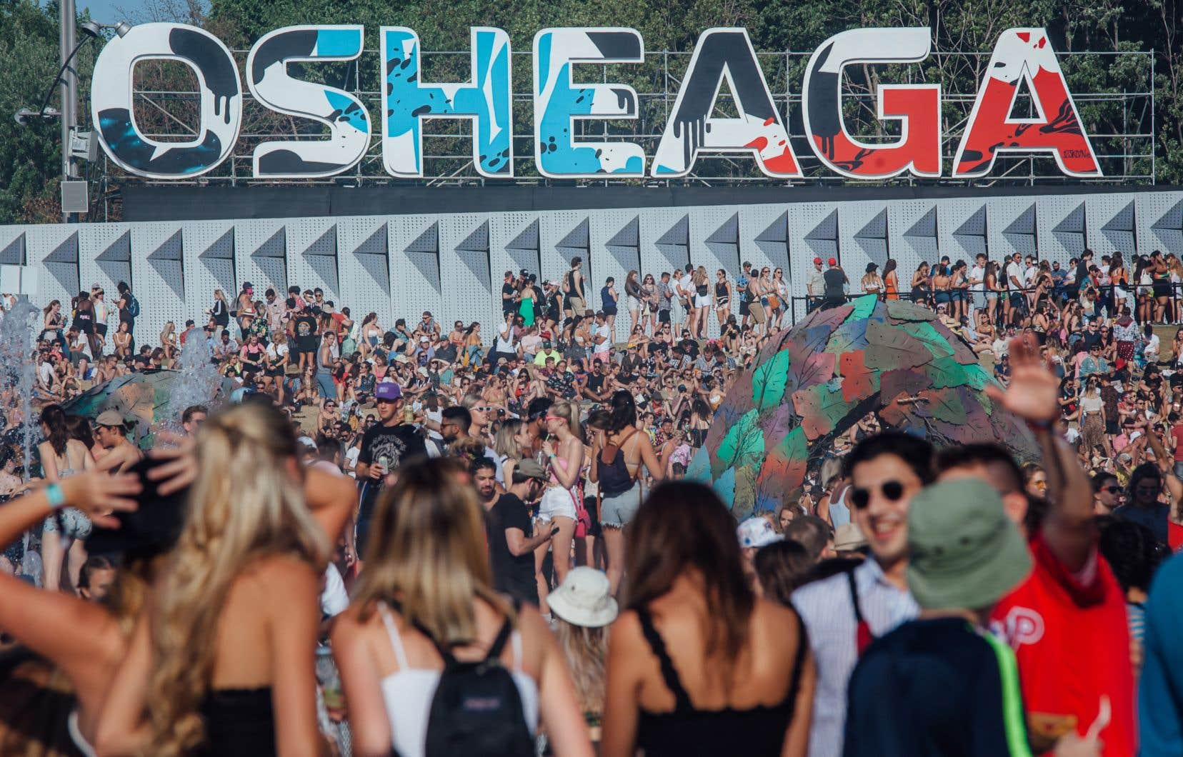 Le festival Osheaga devait célébrer son 15e anniversaire cet été. Photo de l'édition 2019