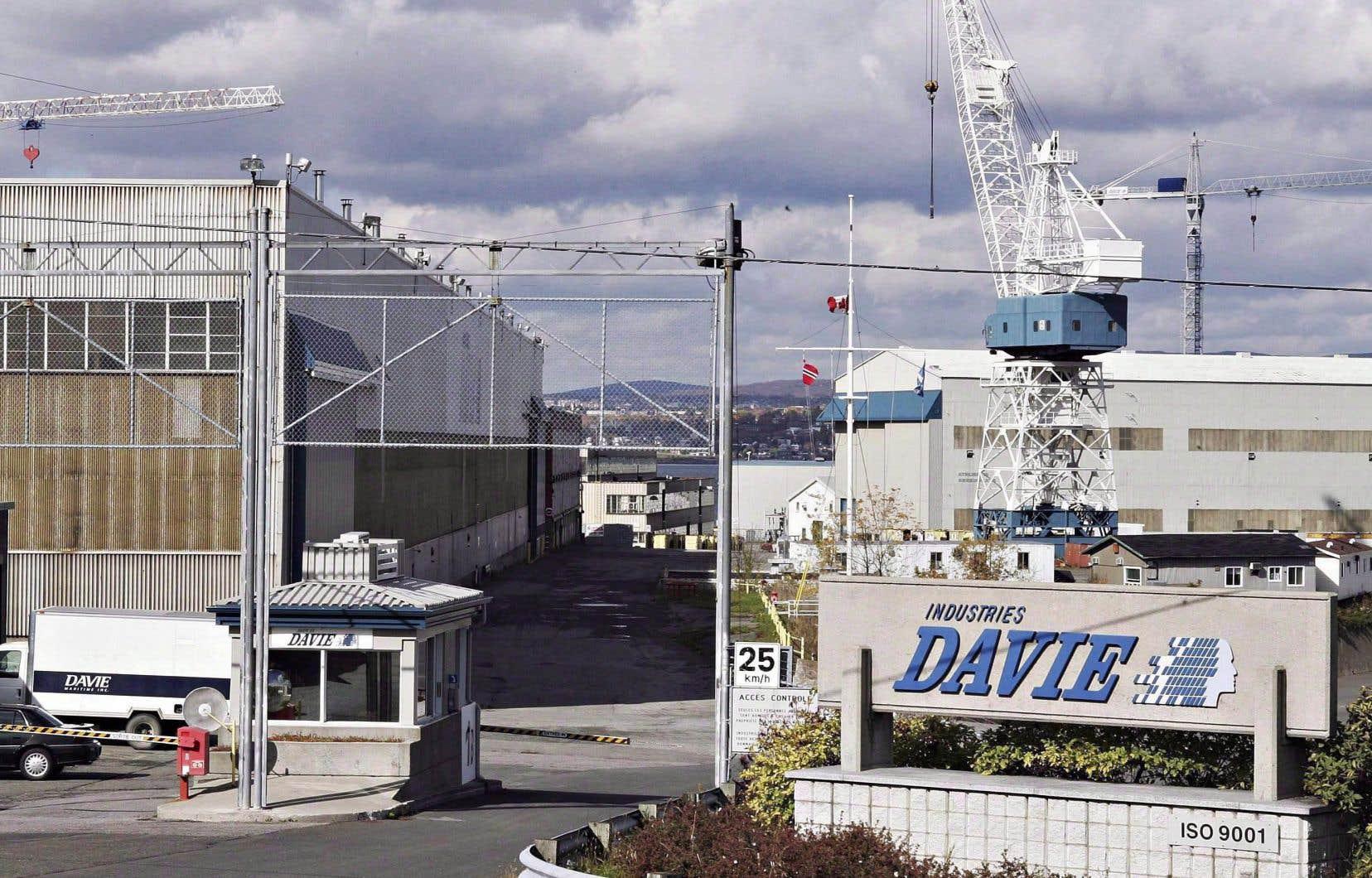 Davie devait être le candidat tout désigné pour le contrat du «Diefenbaker», les libéraux ayant déjà choisi Lévis lors du remaniement, afin de construire six brise-glaces plus petits pour la Garde côtière.