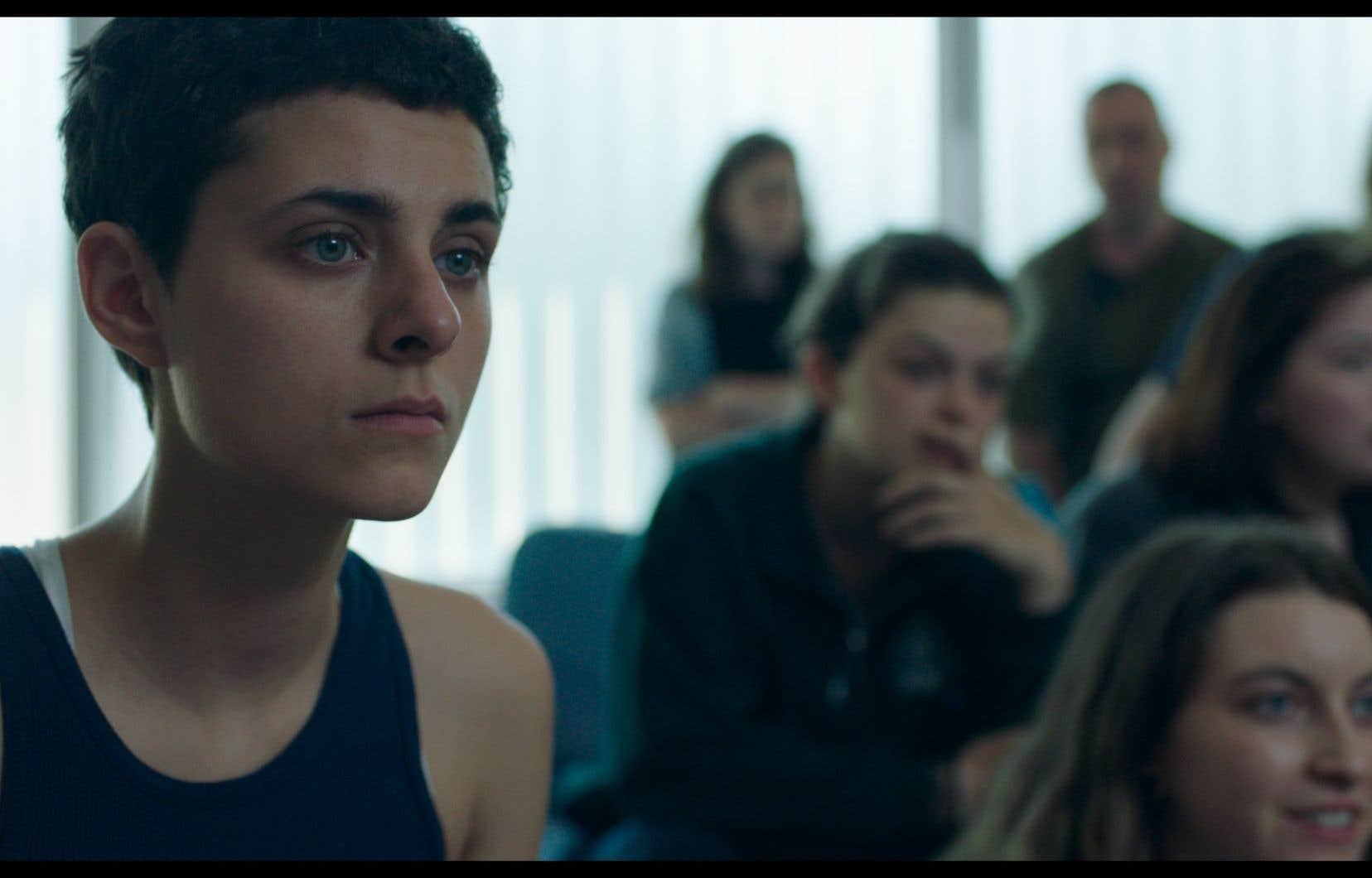 Nahéma Ricci, la vibrante vedette du film «Antigone»<i> </i>de Sophie Deraspe, s'est vu remettre l'Iris de la révélation de l'année.