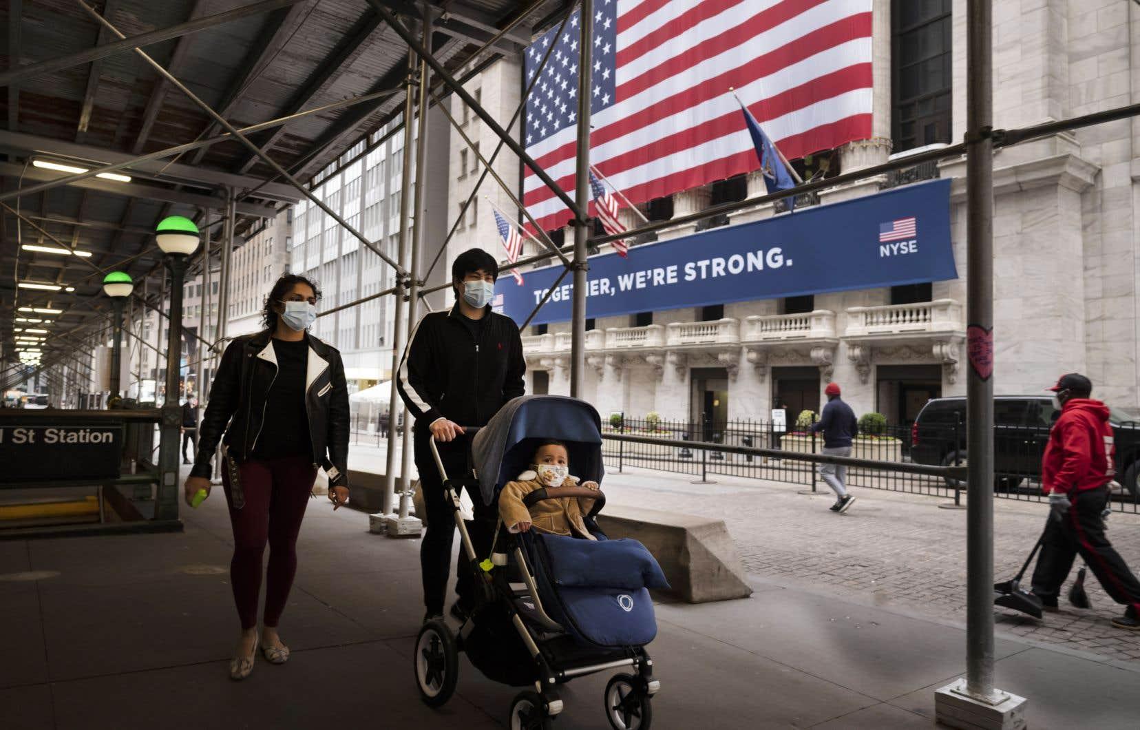 Le thème, jeudi, se voulait l'inquiétude quant à une deuxième vague de la pandémie aux États-Unis.
