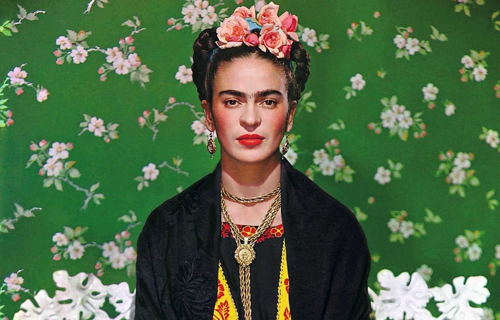 L'exposition«Frida Kahlo, Diego Rivera et le modernisme mexicain» est présentée jusqu'au 7septembre. Détail de «Frida Kahlo sur un banc #5», 1939, Nickolas Muray