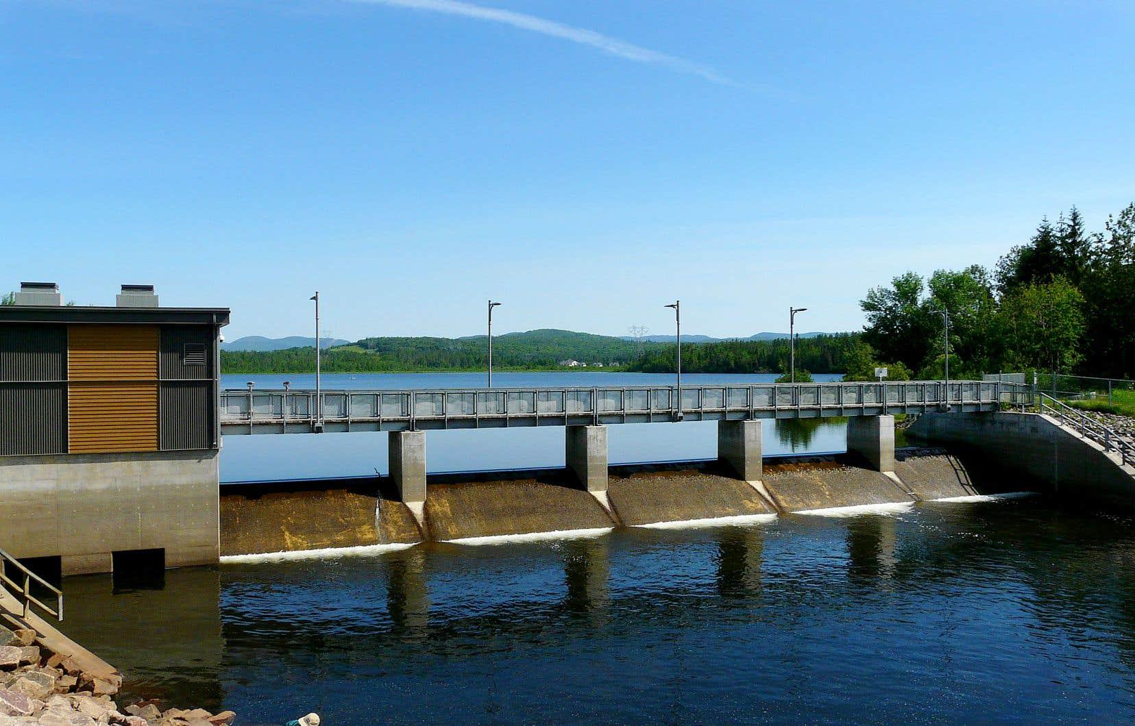 Principal bassin d'eau potable de la ville, le Lac-Saint-Charles a pour l'instant assez d'eau, selon les autorités.
