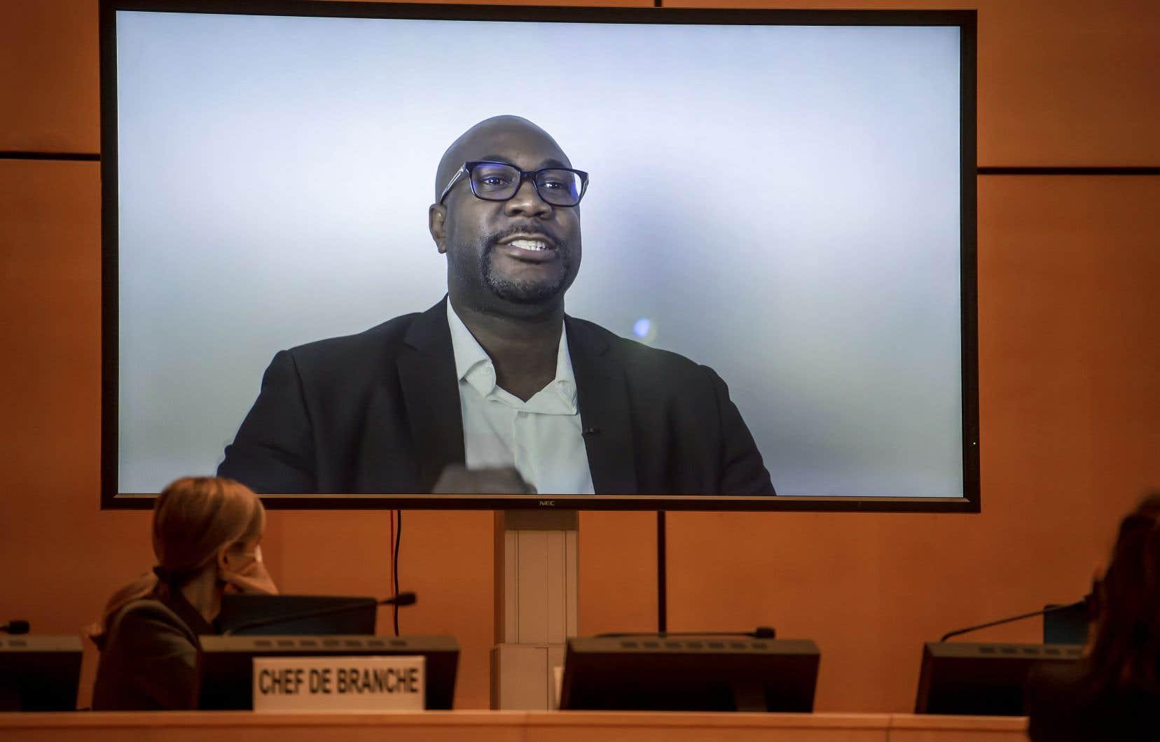 «Vous avez le pouvoir de nous aider à obtenir justice», a lancé Philonise Floyd, dans un message vidéo diffusé mercredi lors d'une réunion de l'ONU.