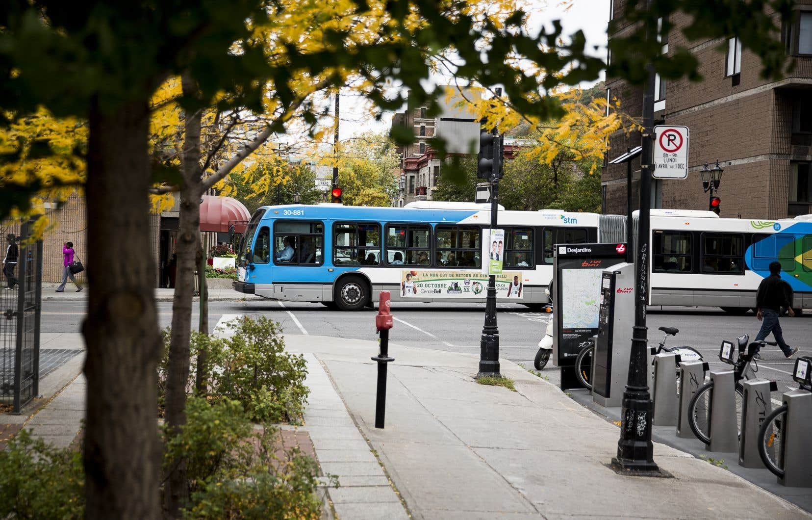 Dans le Grand Montréal, les pertes pourraient atteindre plus de 500millions de dollarsen raison de la chute de l'achalandage.