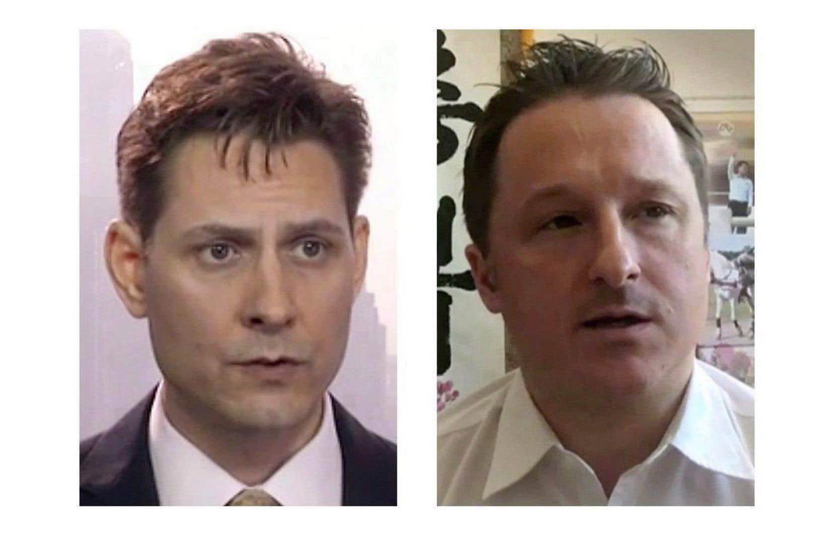 Michael Kovrig et Michael Spavor sont détenus depuis décembre 2018.