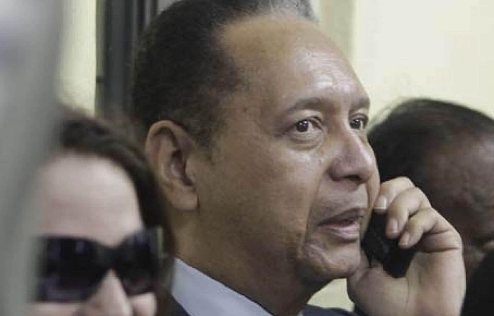 Jean-Claude Duvalier, à son arrivée en Haïti<br />