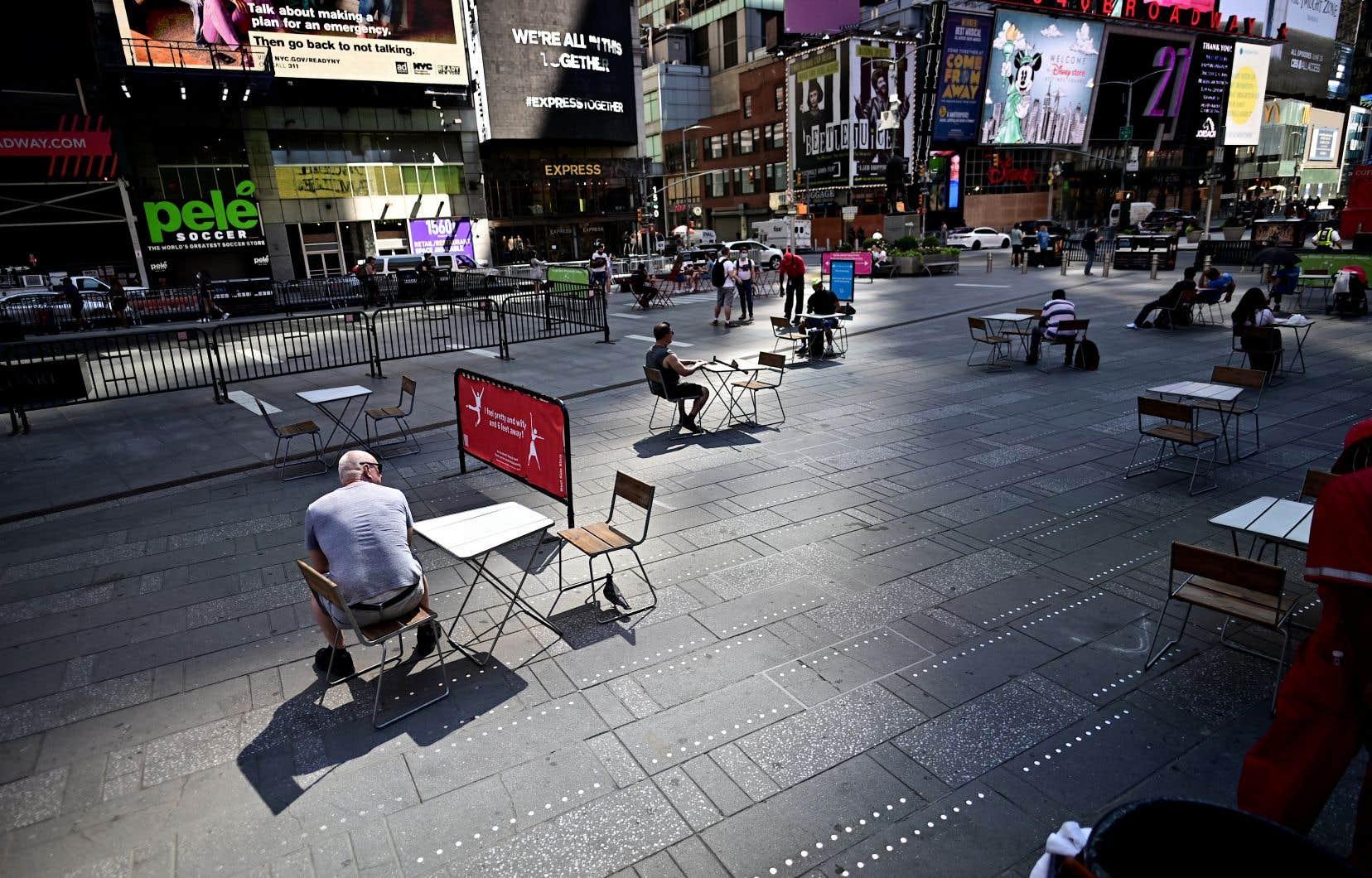 La ville de New York a été gravement touchée par la pandémie de coronavirus.