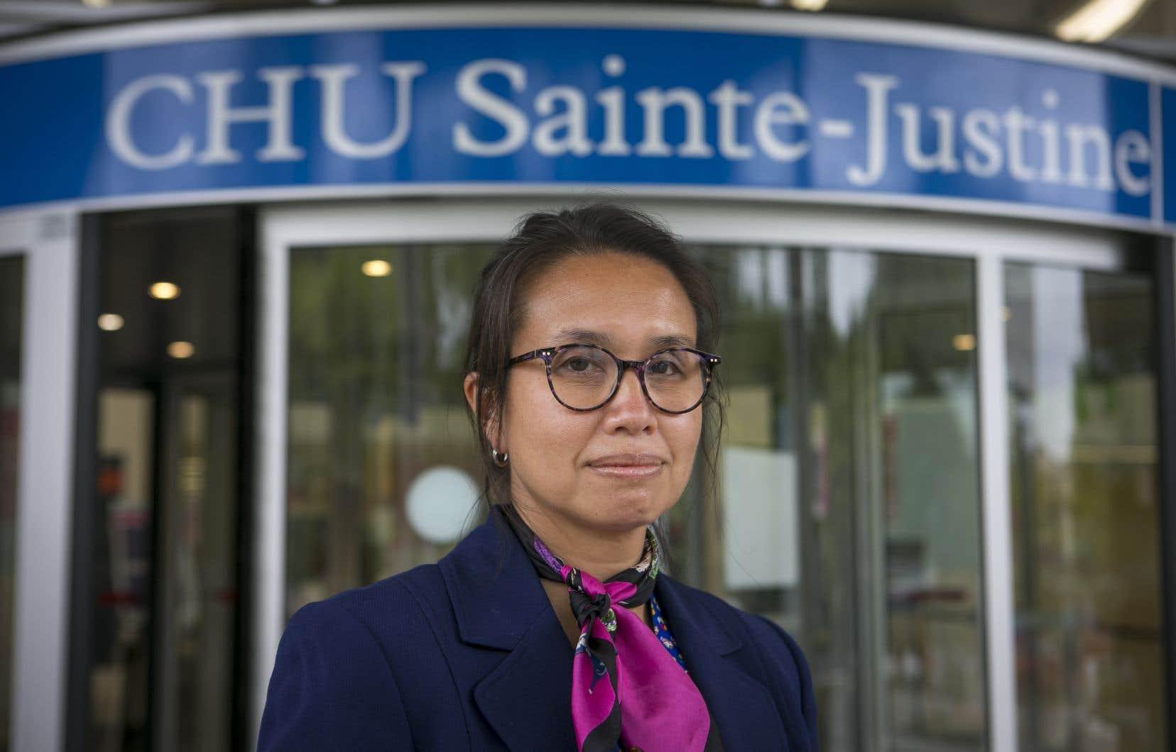 La docteure Caroline Quach-Thanh a reçu un montant de 2,1millions $ pour étudier le risque de réinfection chez les travailleurs de la santé.