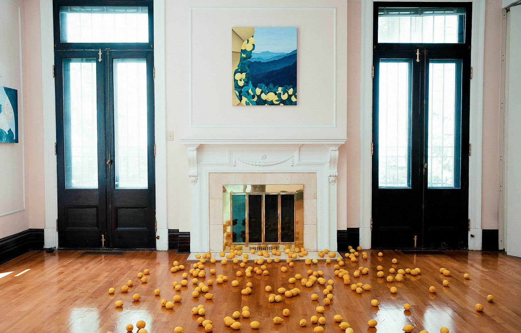 Le Projet Pangée a mené un vernissage lent des œuvres de Joani Tremblay adapté au déconfinement.