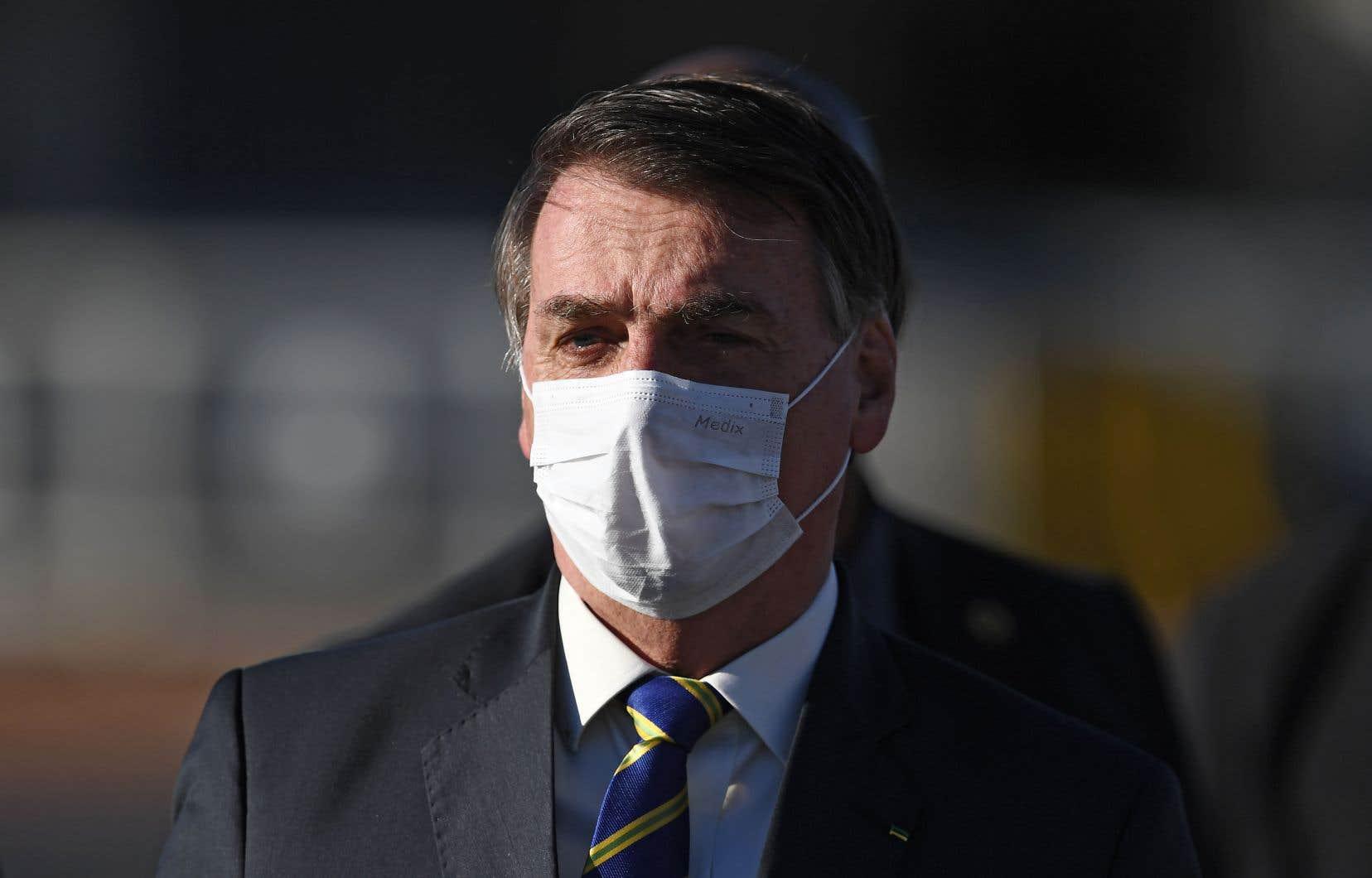 Le président d'extrême droite du BrésilJair Bolsonaro