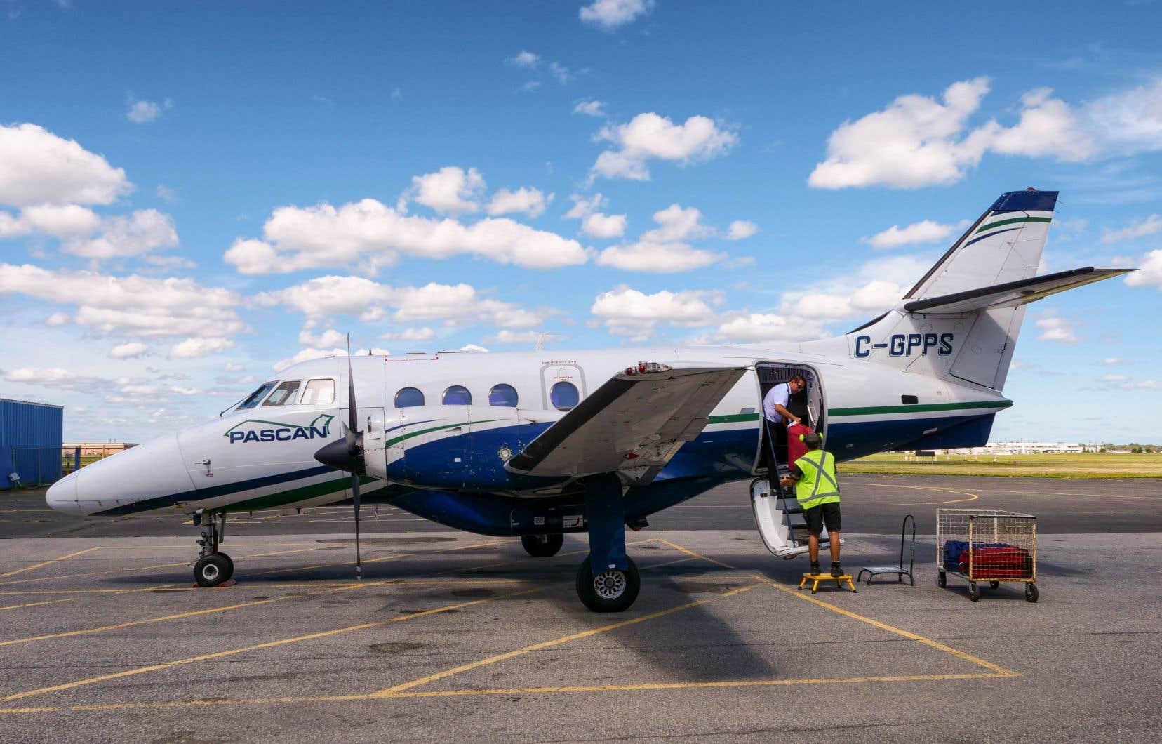 Les appareils exploités par Pascan sont de plus petite taille que ceux d'Air Canada, a dit M.Gagnon.