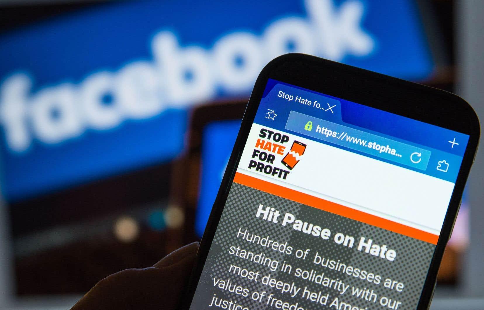 Dans l'actuel appel au boycottage, Facebook s'engage à revoir ses propres dispositifs et règlements par rapport aux fausses nouvelles et à la vérification des faits, sans compromettre sa position de défenseur de la liberté d'expression sur le Net.