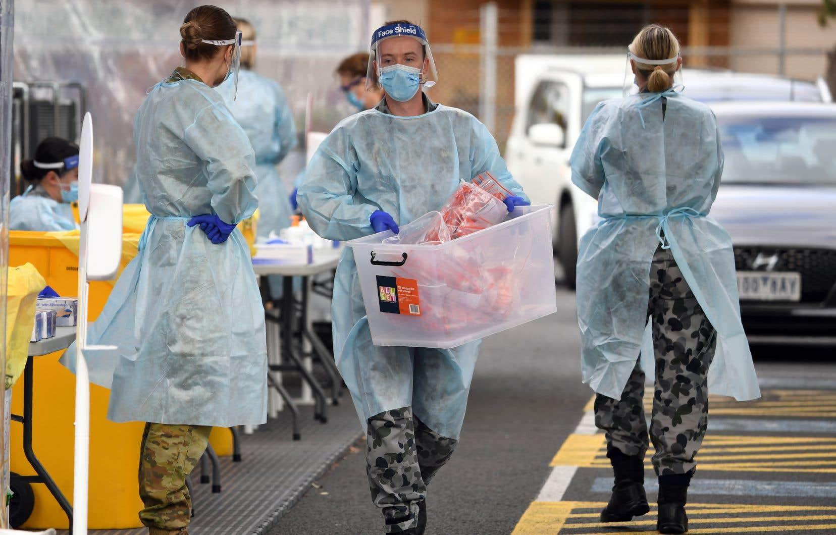 Depuis une semaine — la pire en termes d'infections depuis le début de l'épidémie — le nombre de contaminations dépasse les 160000 par jour, selon l'OMS.