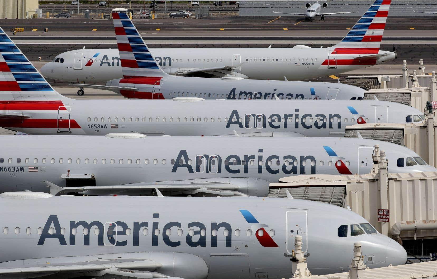 American Airlines fait partie despremières compagnies aériennes à avoir accepté les conditions du gouvernement pour un prêt financier.