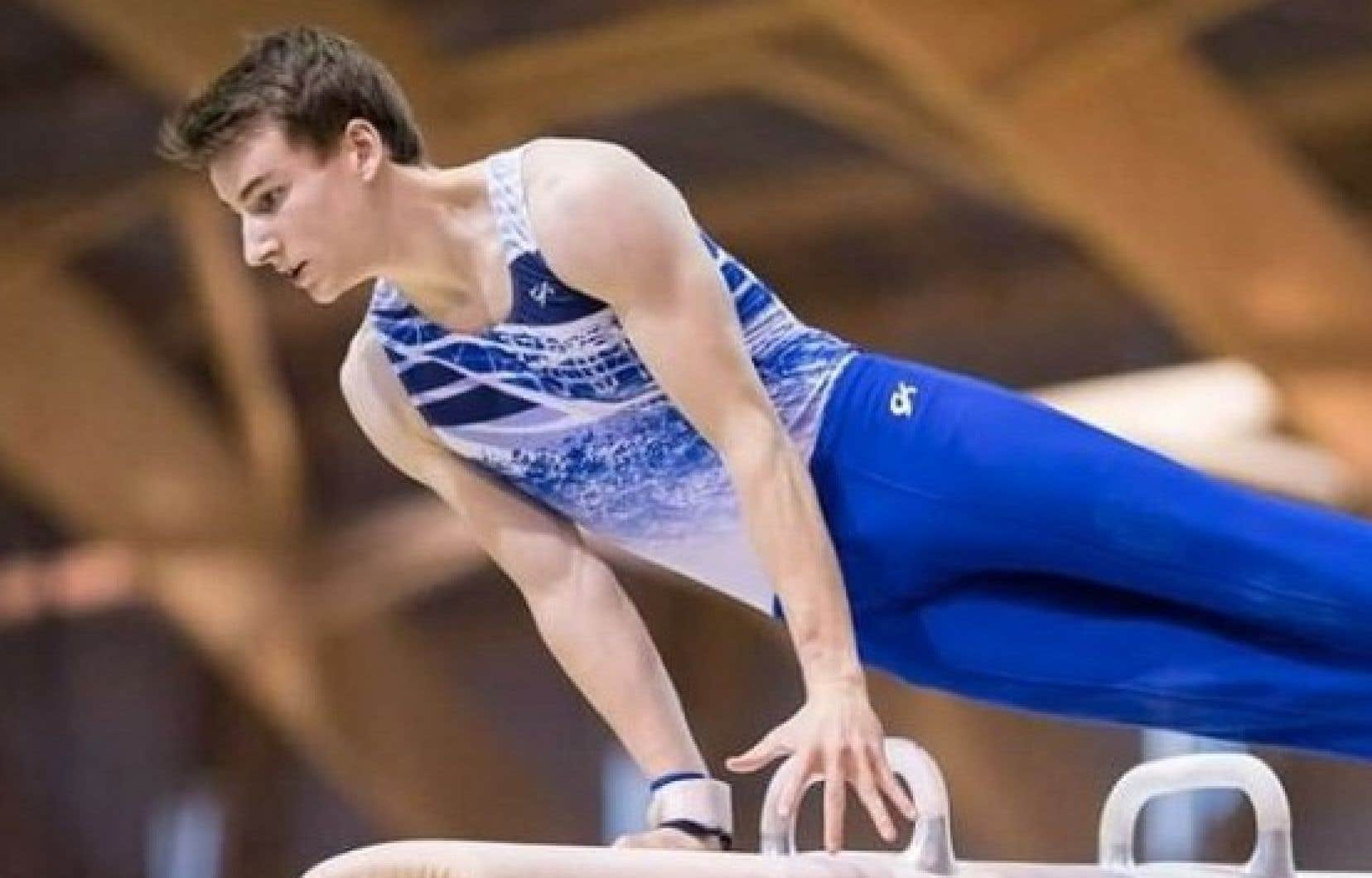 Le gymnaste québécois Thierry Pellerin