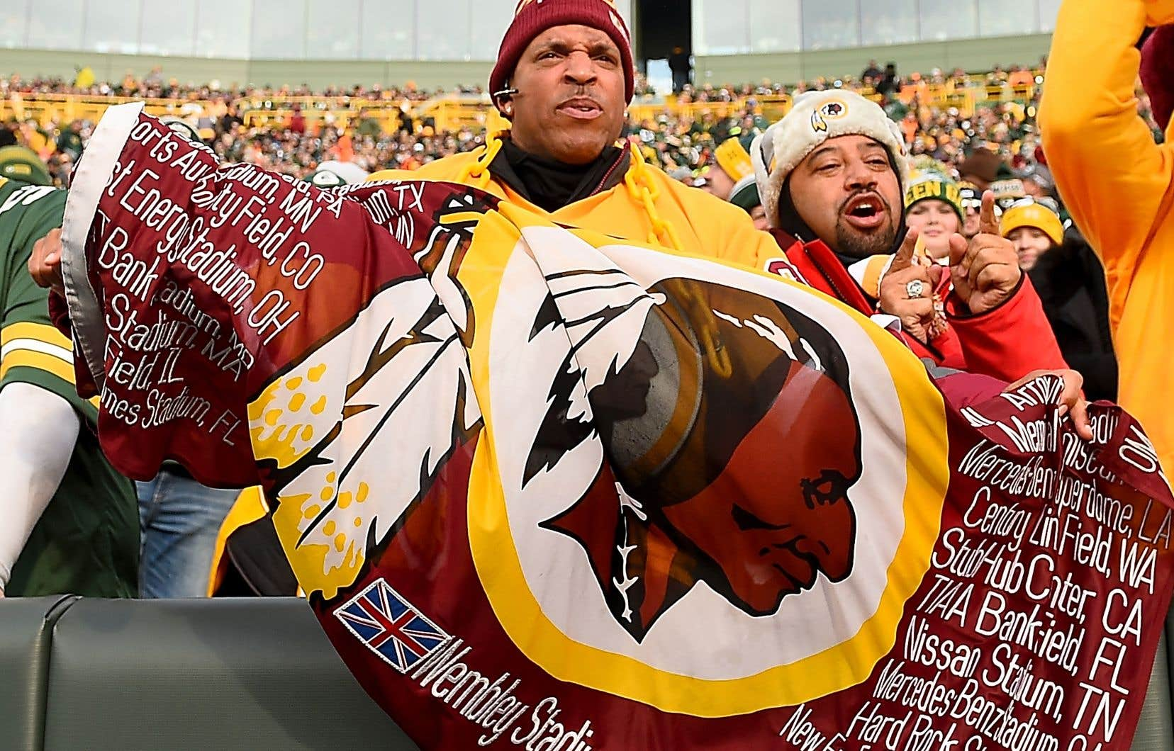 L'équipe de la capitale américaine est critiquée depuis de nombreuses années en raison de la connotation raciste de sonnom et son logo.