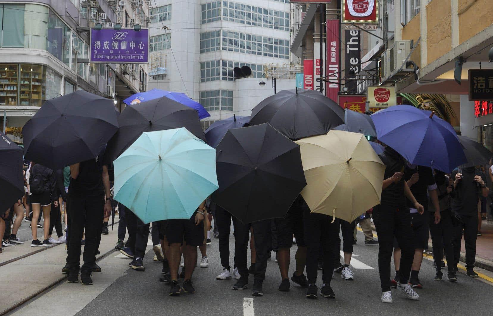 Le régime communiste chinois a imposé à Hong Kong unloi sur la sécurité nationaletrès controversée.