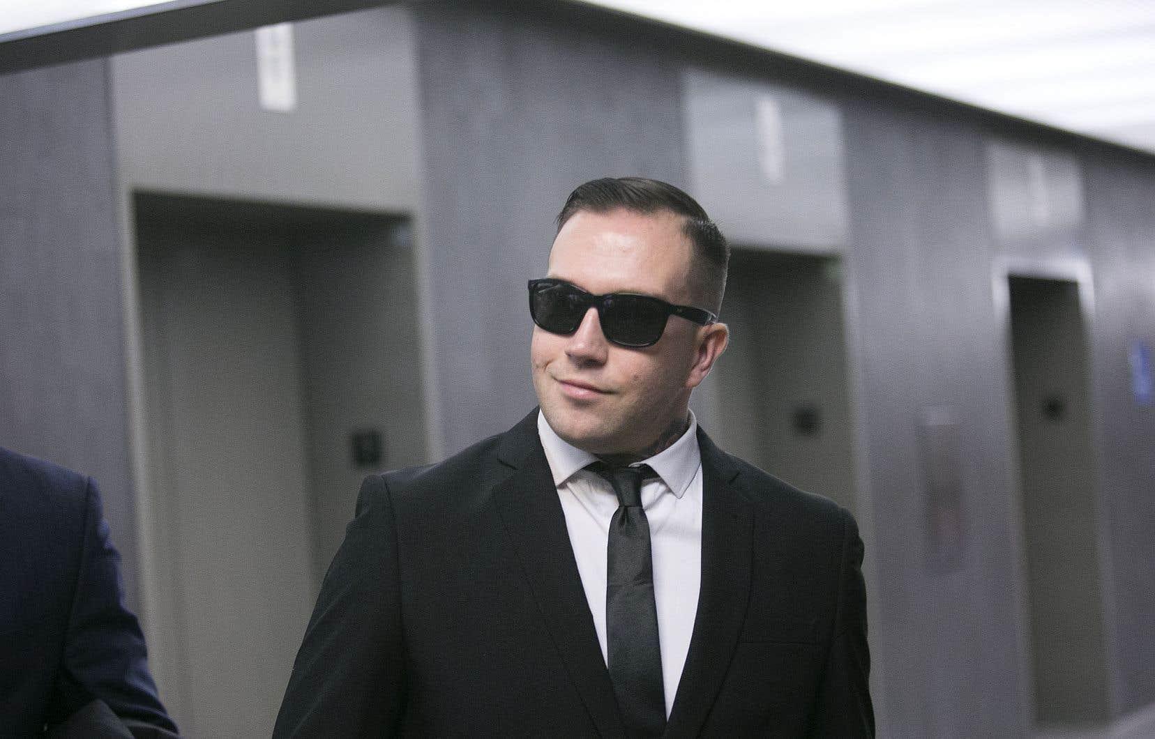 Raphaël Lévesque, le leader du groupe de droite identitaire Atalante