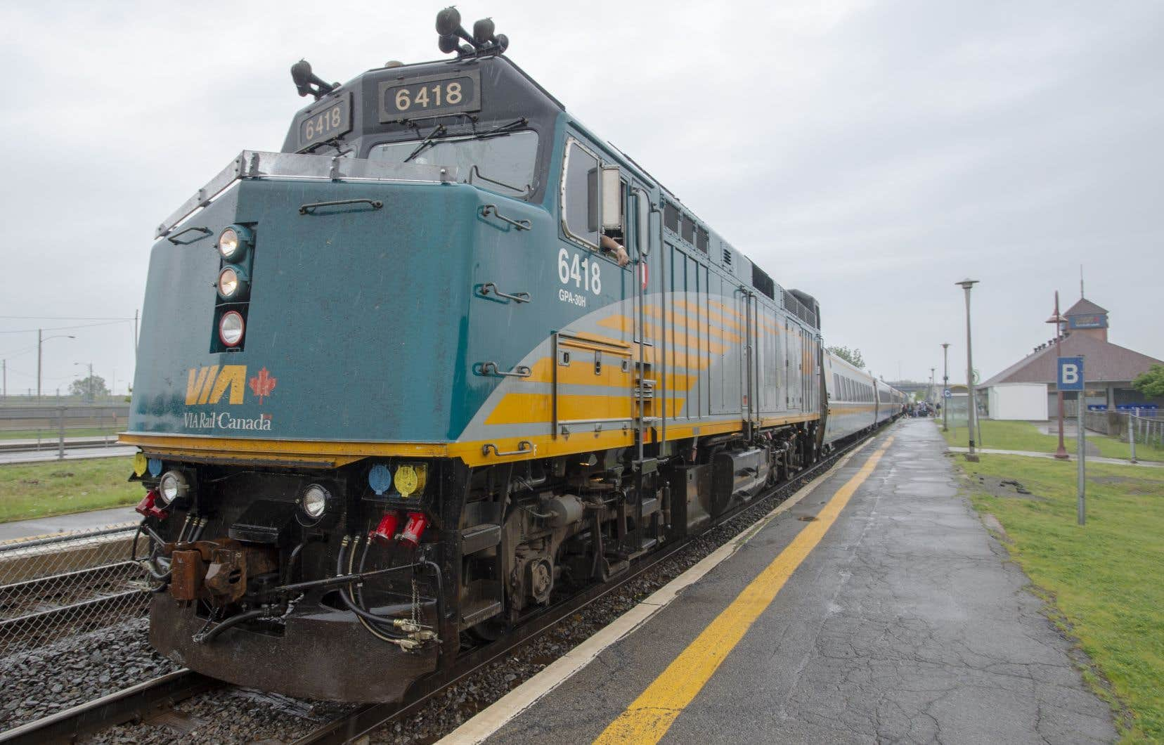 Selon son plus récent rapport annuel, Via Rail comptait 3234 employés actifs à la fin du mois de décembre.