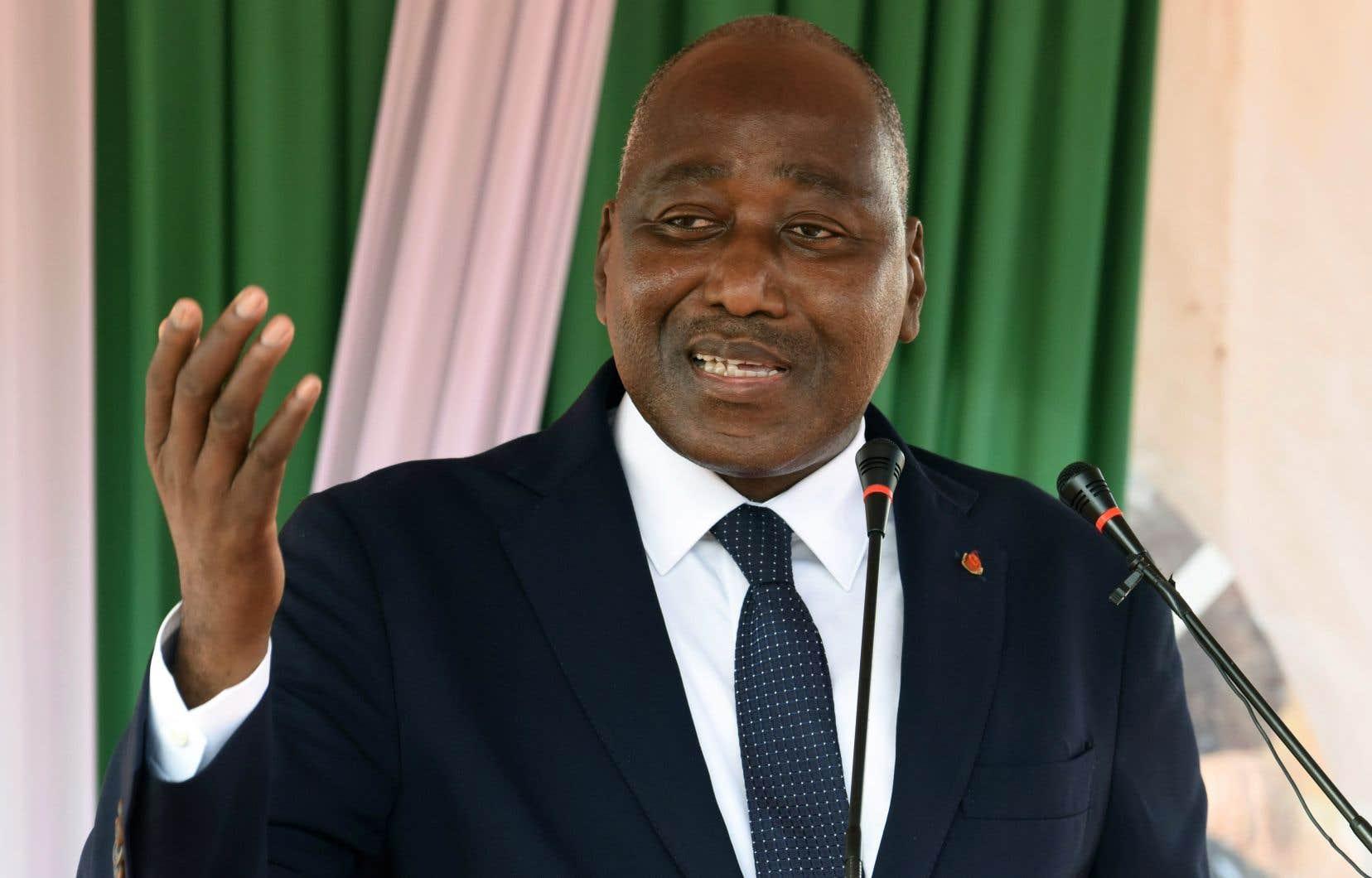 Amadou Gon Coulibaly, dit «AGC», était revenu il y a près d'une semaine de France après deux mois d'hospitalisation pour des problèmes cardiaques.