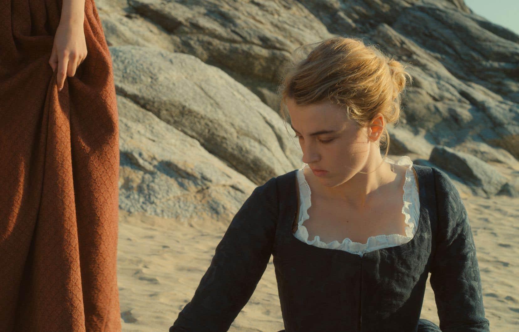 Scène tirée du film «Portrait de la jeune fille en feu»
