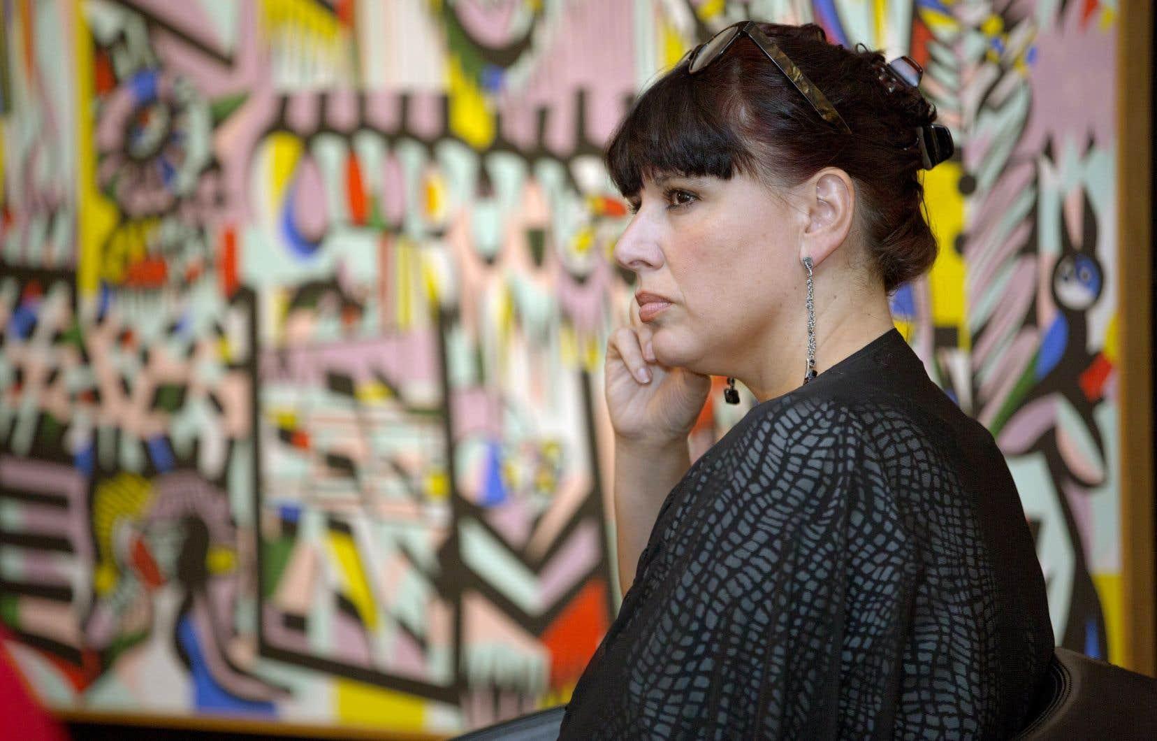 Nathalie Bondil est directrice générale du Musée des beaux-arts de Montréal.