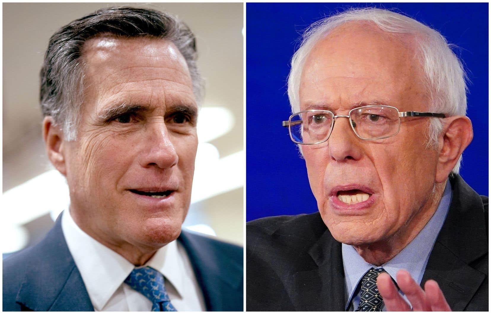 «La vocation que Mitt Romney et Bernie Sanders ont ressentie pour briguer la présidence par deux fois doit être encore plus pressante aujourd'hui», écrit l'autrice.