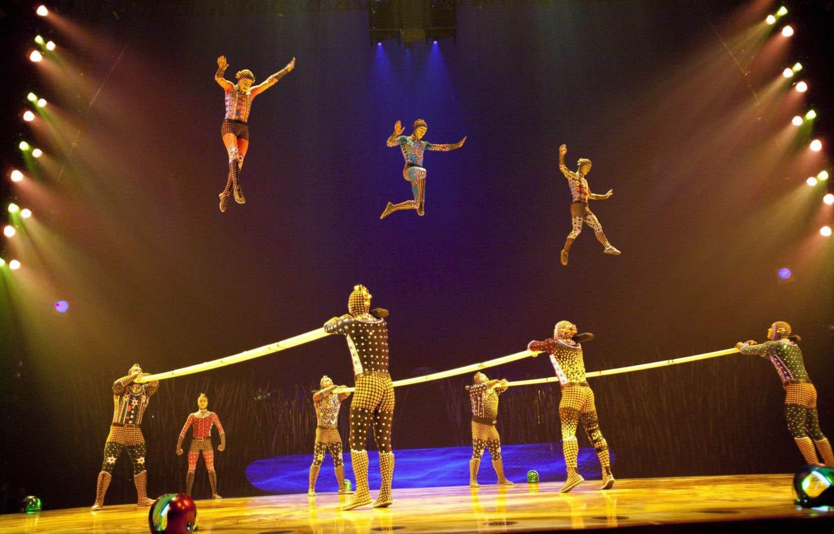 Les créances du Cirque du Soleil totalisent plus de 1,6milliard de dollars US.