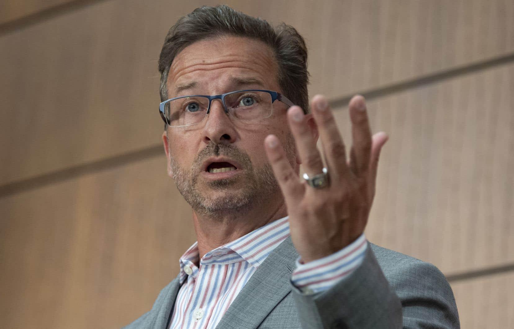 De passage à Ottawa, mardi, le chef bloquiste Yves-François Blanchet a estimé que les excuses de M. Trudeau ne sont pas suffisantes.