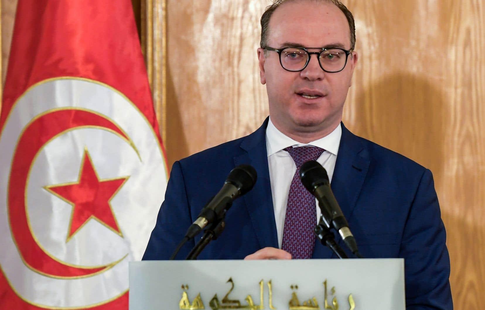 Le chef du gouvernement tunisien, Elyes Fakhfakh