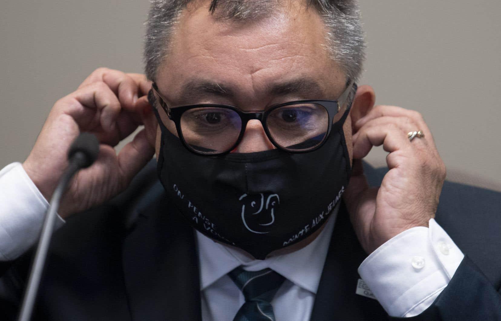 Le directeur national de la santé publique, Horacio Arruda