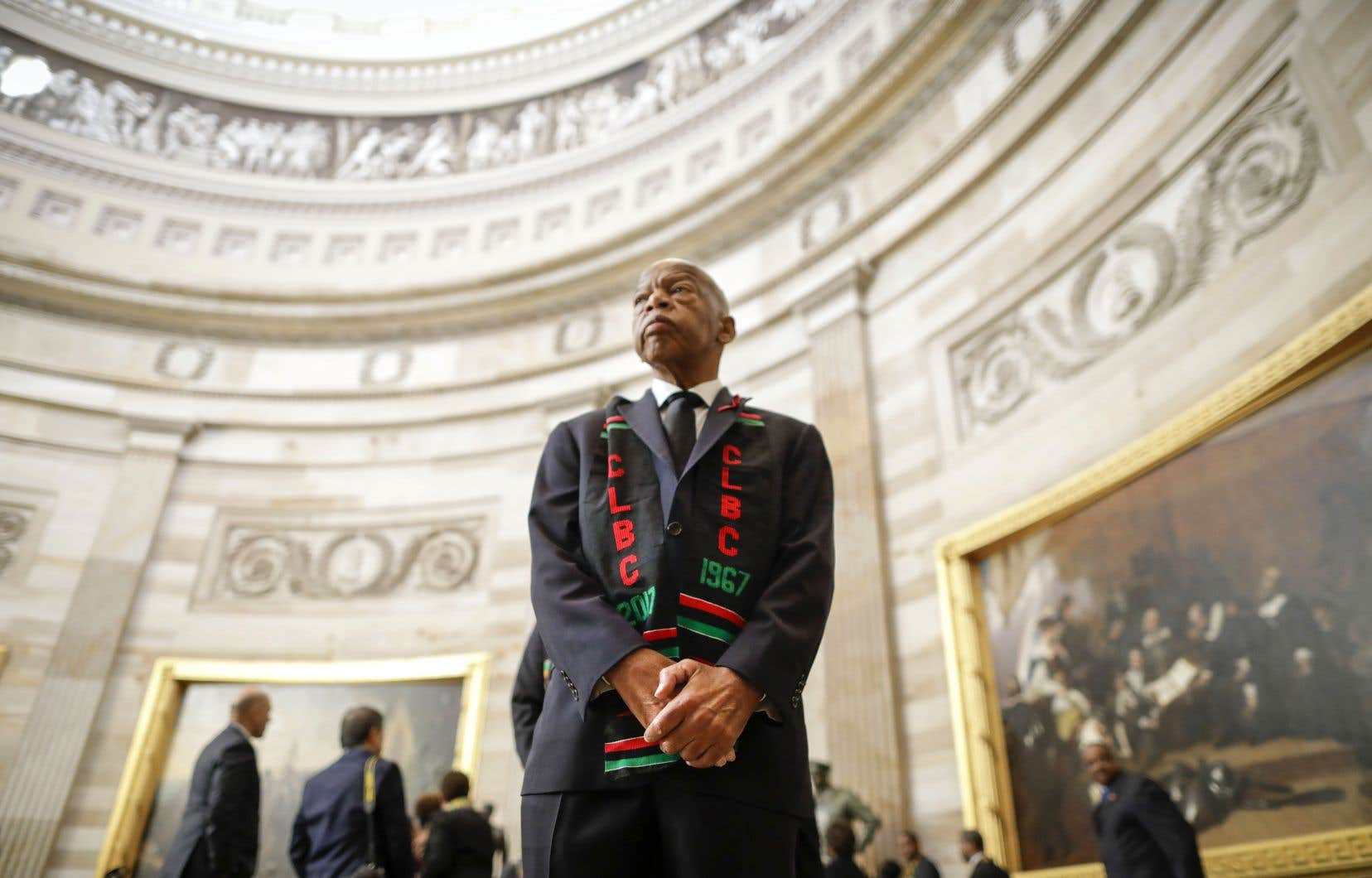John Lewis était le dernier survivant des Big Six, des activistes des droits civiques dirigés par le révérend Martin Luther King Jr.