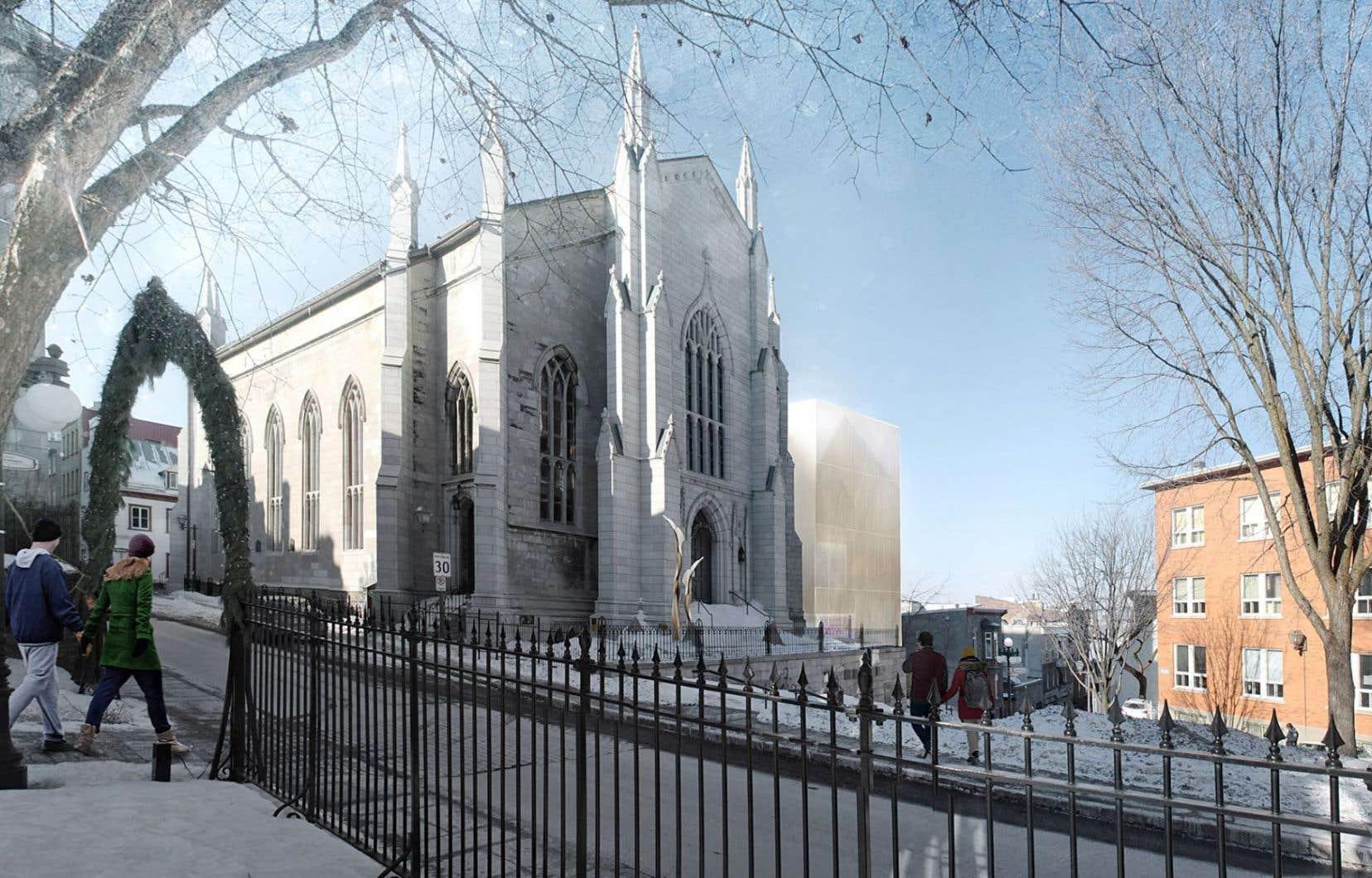 «Même s'ils ont perdu leur fonction d'origine, la plupart de nos édifices patrimoniaux offrent un formidable potentiel de conversion», écrit l'auteur, citant en exemple la Maison de la littérature à Québec.