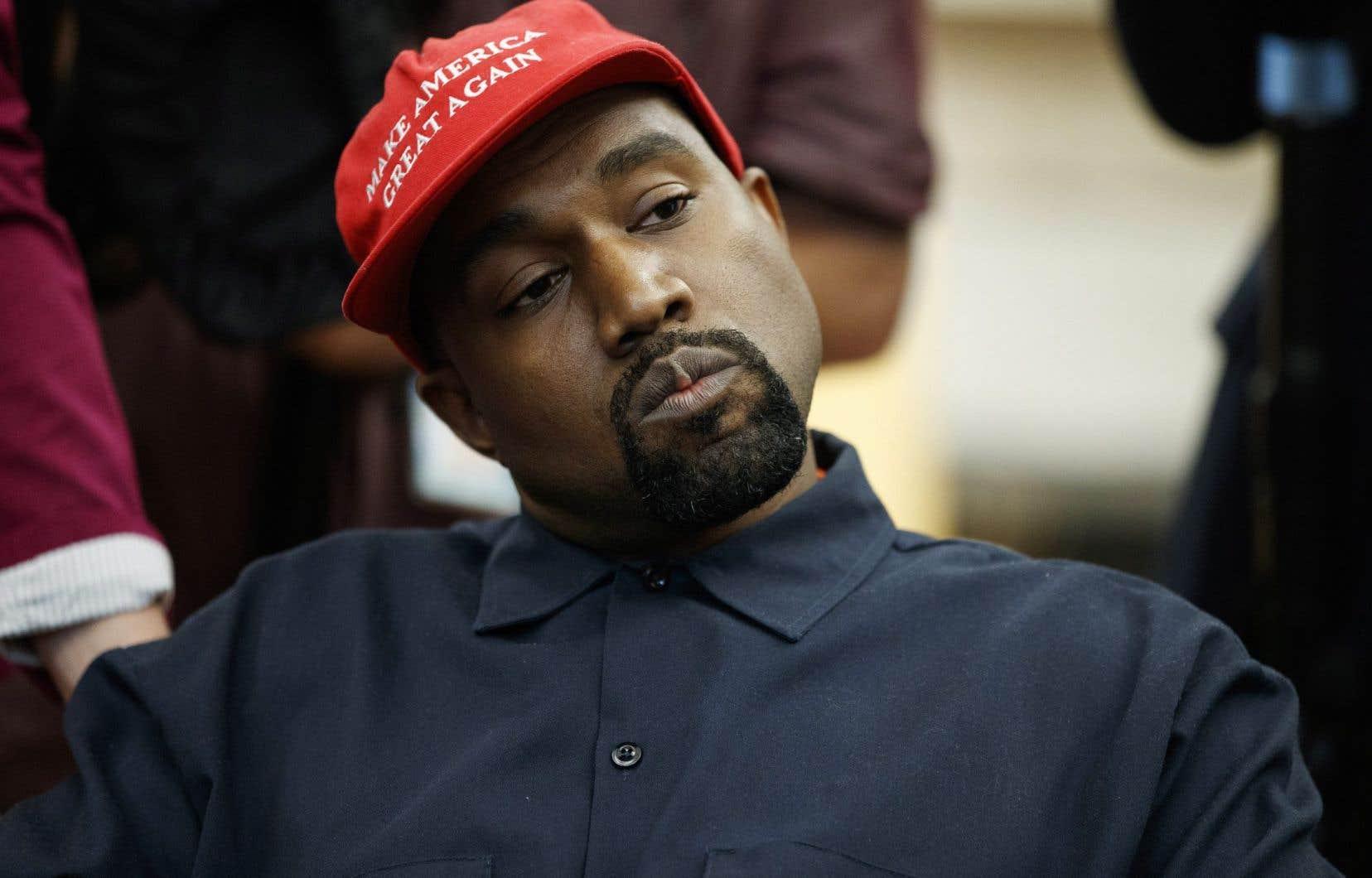 Kanye West a dépassé la date limite pour figurer sur la liste officielle des candidats dans plusieurs États, mais il est inscrit sur celle de l'Oklahoma.