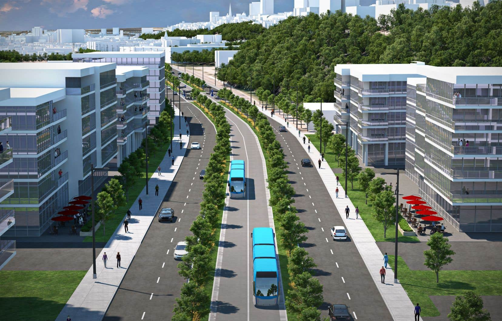 «Si on veut d'abord réduire le nombre d'automobiles privées, d'autres options plus efficaces [qu'un tramway] existent, et elles coûtent moins cher», selon l'auteur.
