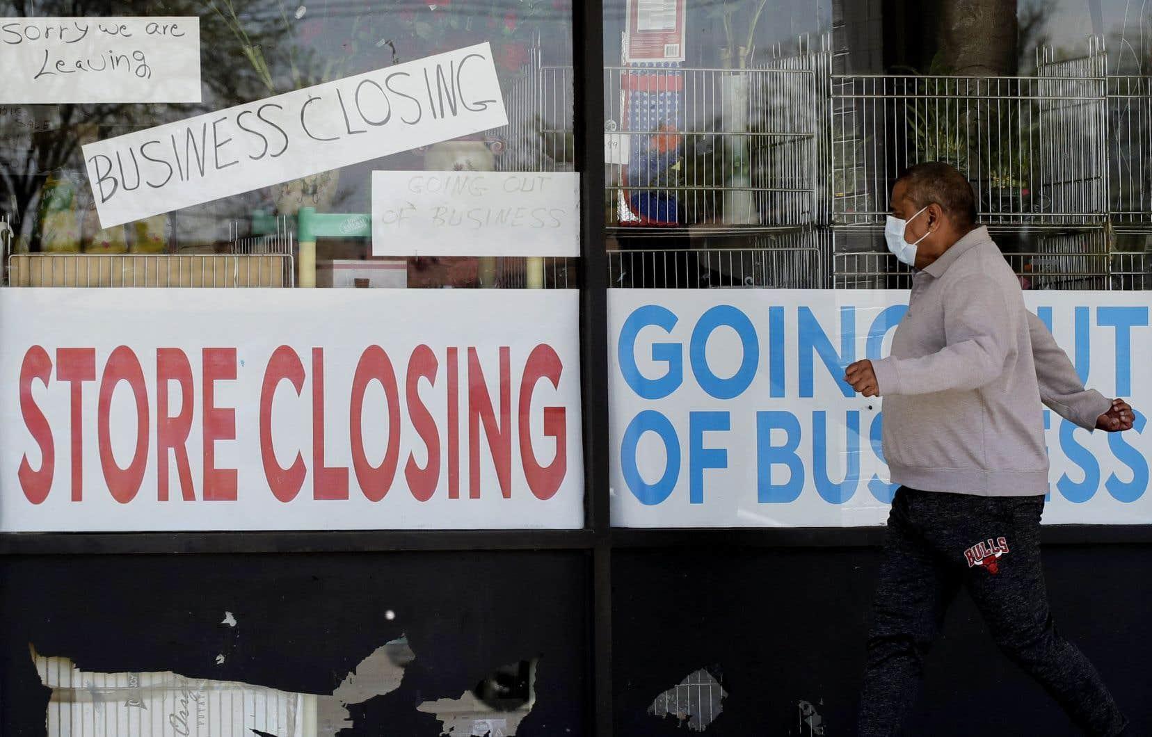 Depuis avril, le gouvernement américain accorde 600 dollars par semaine aux chômeurs.