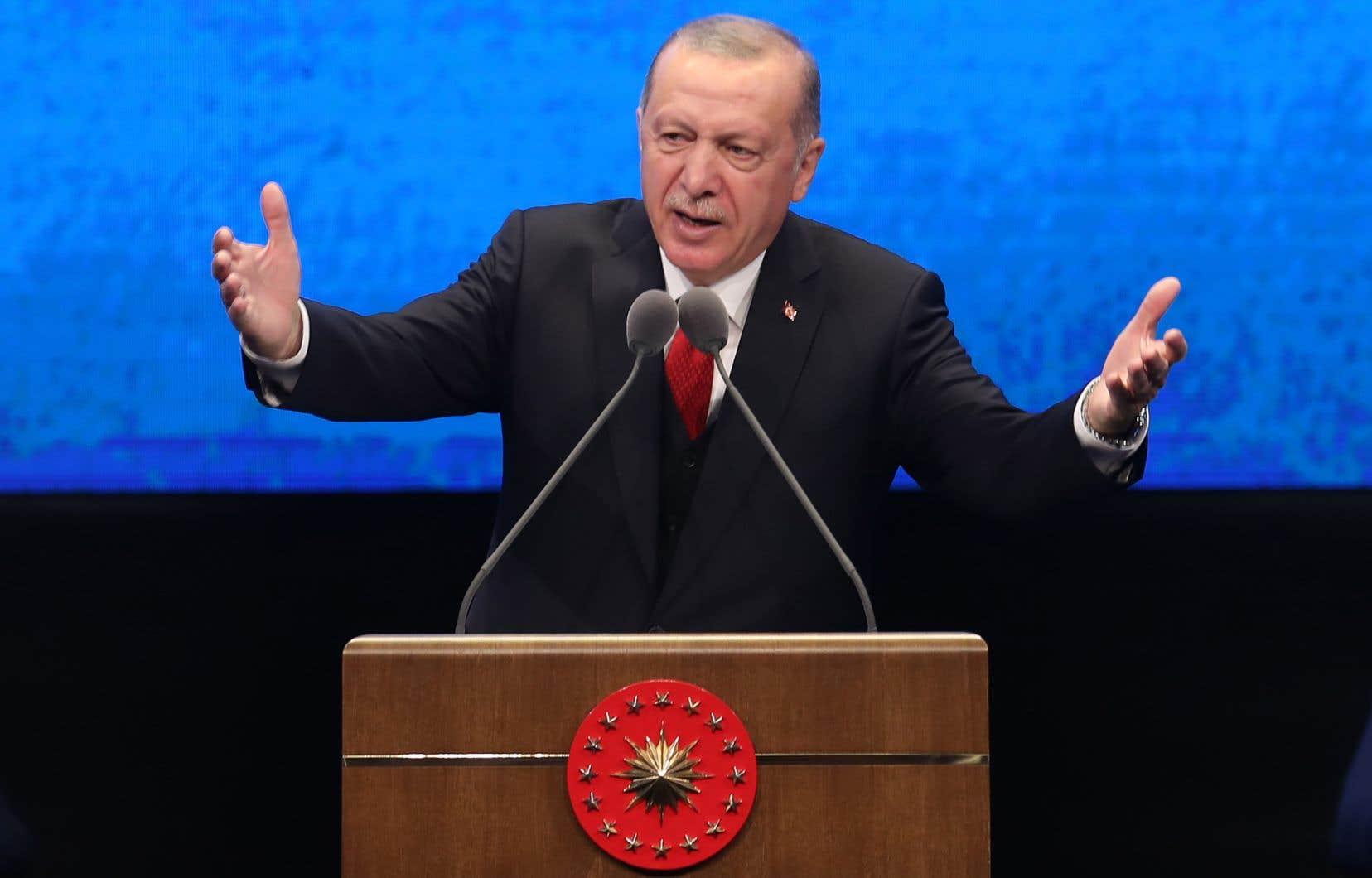 Ce projet de loi avait été présenté après que la fille et le gendre du président Recep Tayyip Erdogan ont essuyé des injures sur Twitter.
