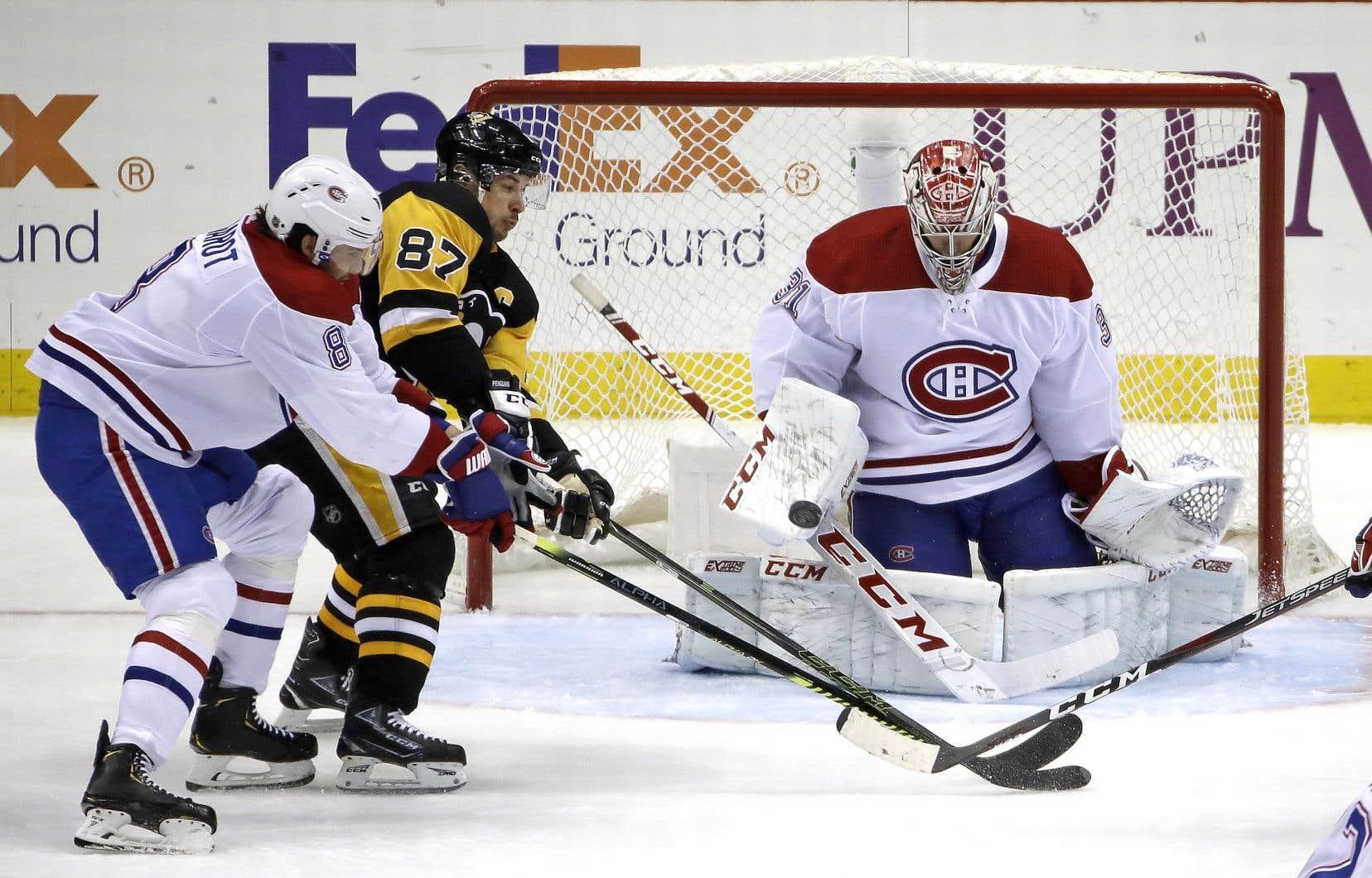Les Penguins avaient amassé 86 points en 69 matchs avant l'arrêt des activités, tandis que le Tricolore en possédait 71 après autant de rencontres.