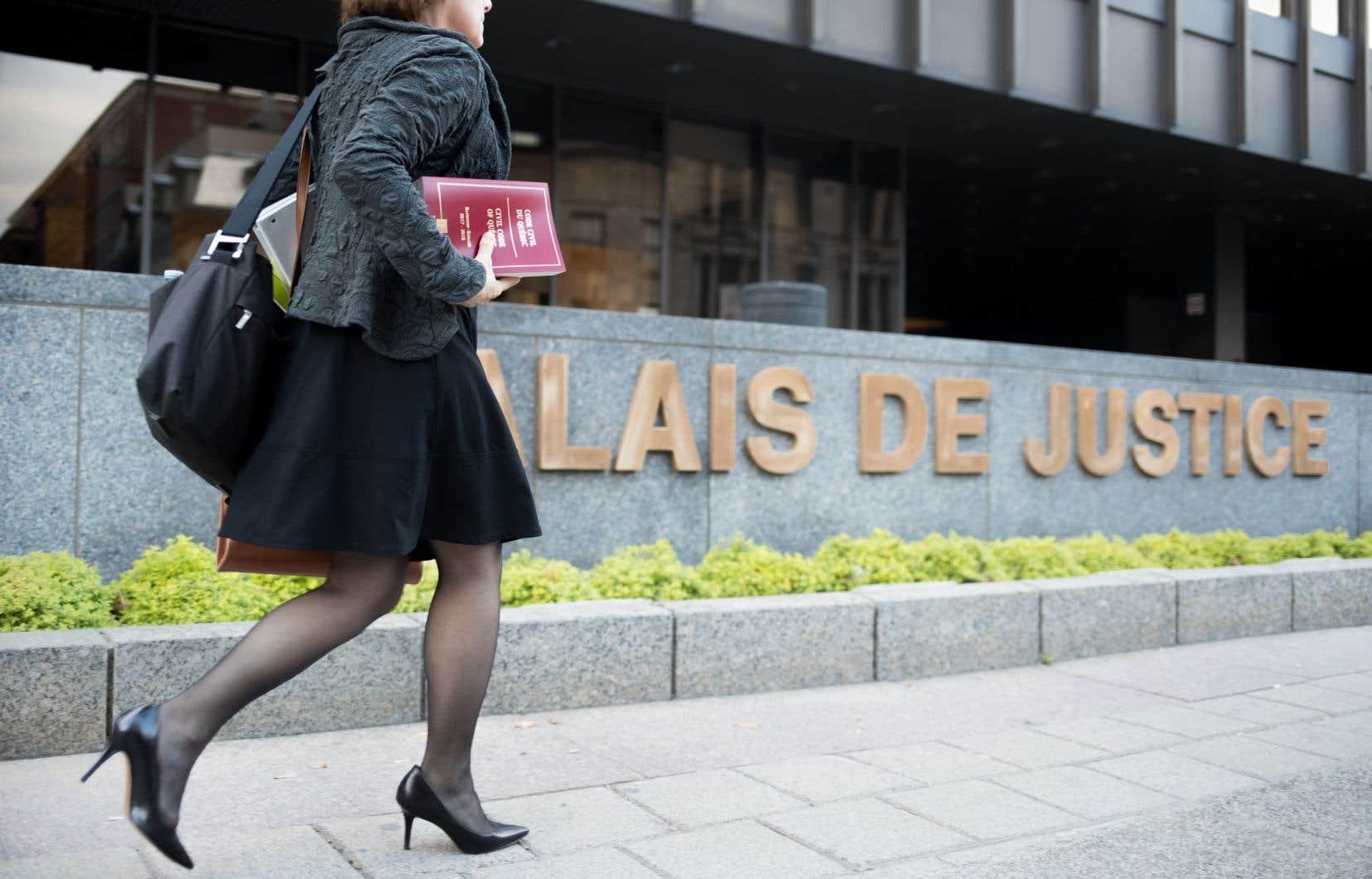 «Le système judiciaire, tel qu'il est conçu actuellement, permet rarement d'arriver à un verdict de culpabilité dans les cas d'agression à caractère sexuel», écrit l'autrice.