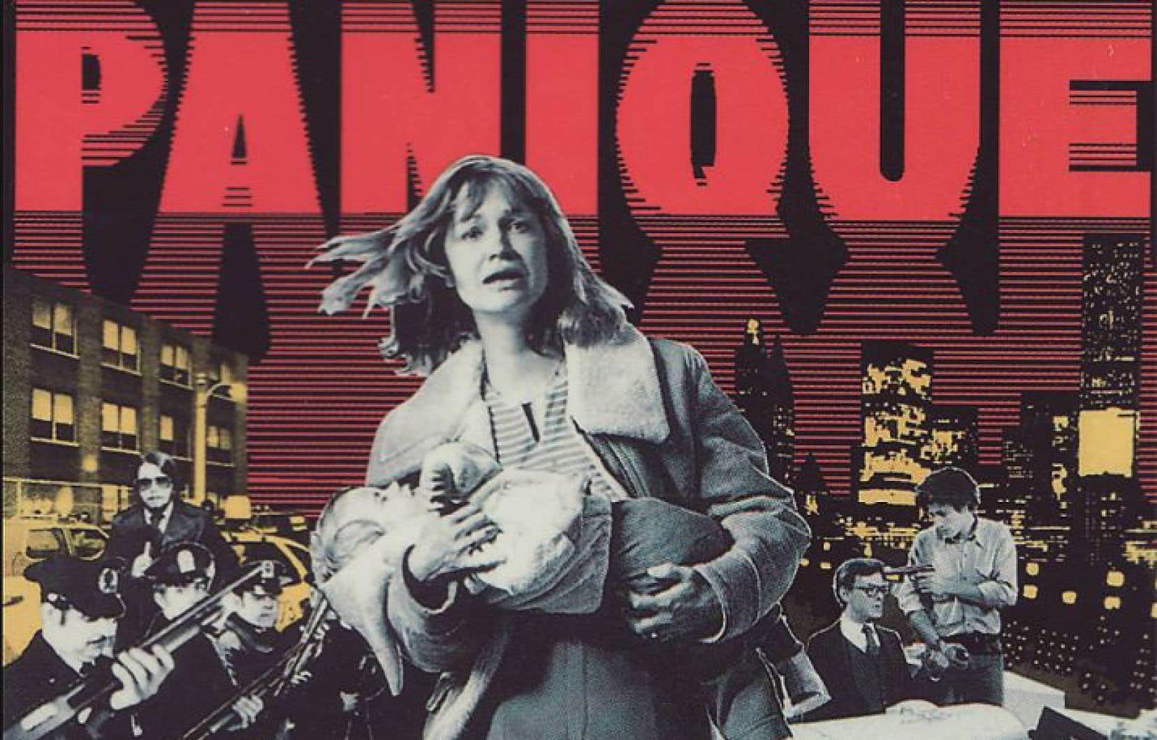 L'affiche du film «Panique», de Jean-Claude Lord, sorti en 1977.