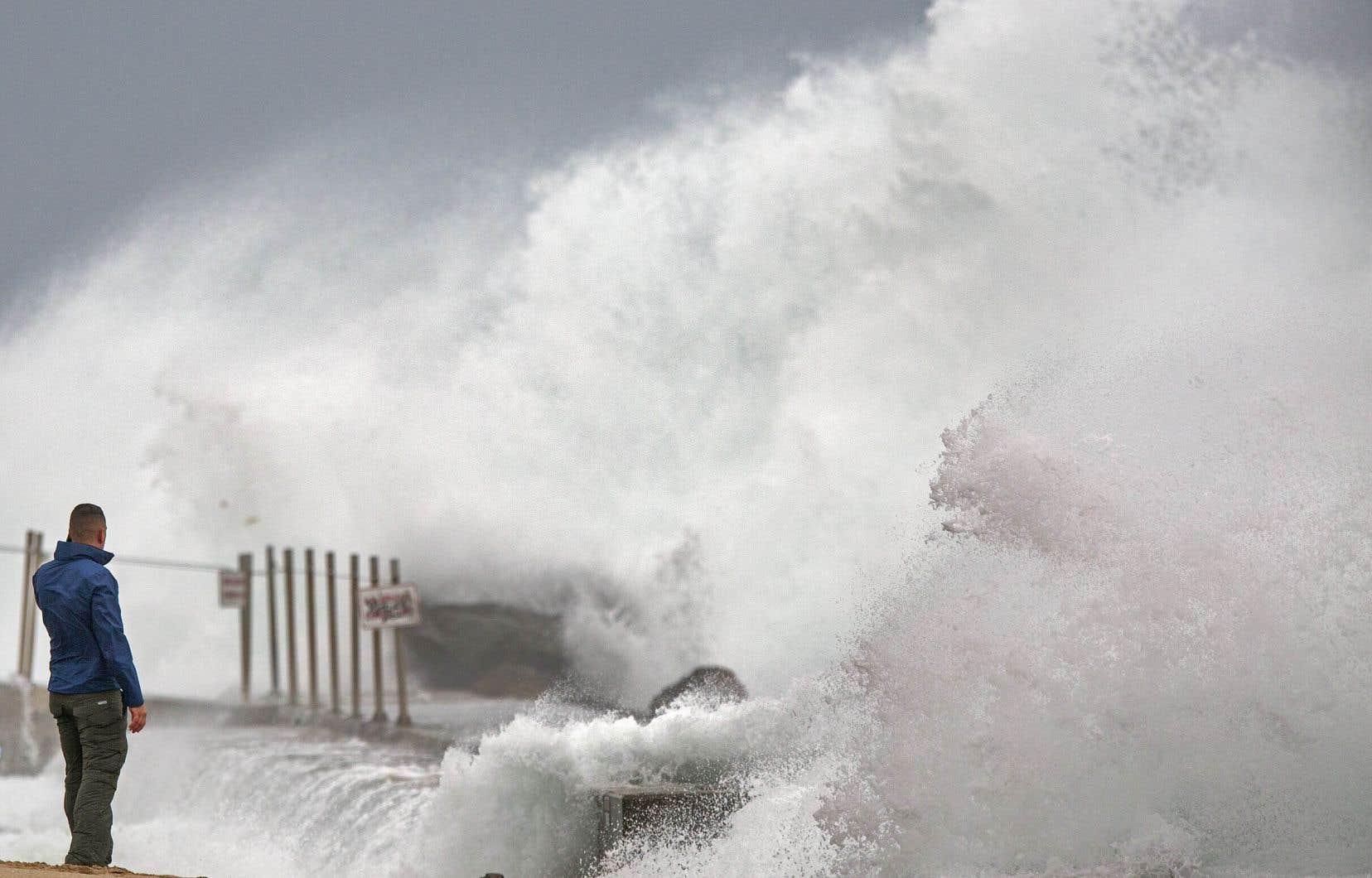 La tempête a atteint la Floride cette fin de semaine.