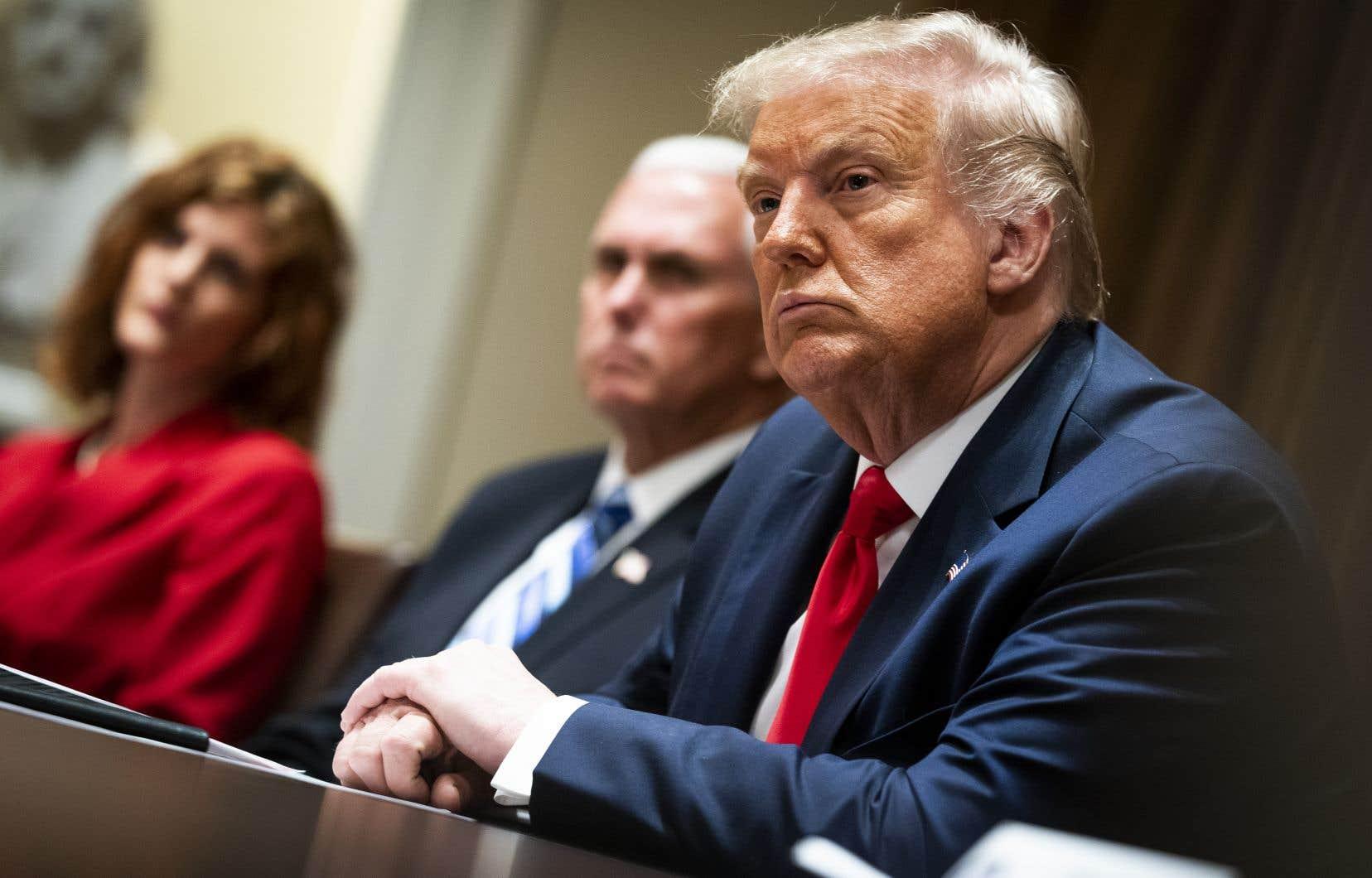 «[TikTok] fermera le 15septembre à moins que Microsoft ou une autre entreprise soit en mesure de l'acheter et de trouver un accord», a indiqué le président américain, Donald Trump.