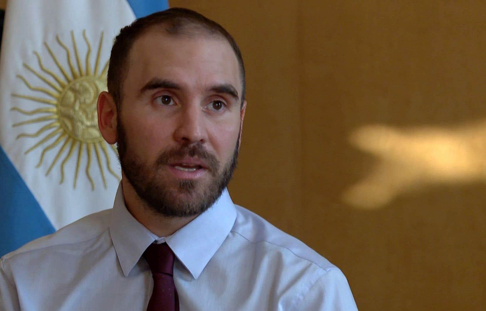 Le ministre argentin de l'Économie,Martin Guzman