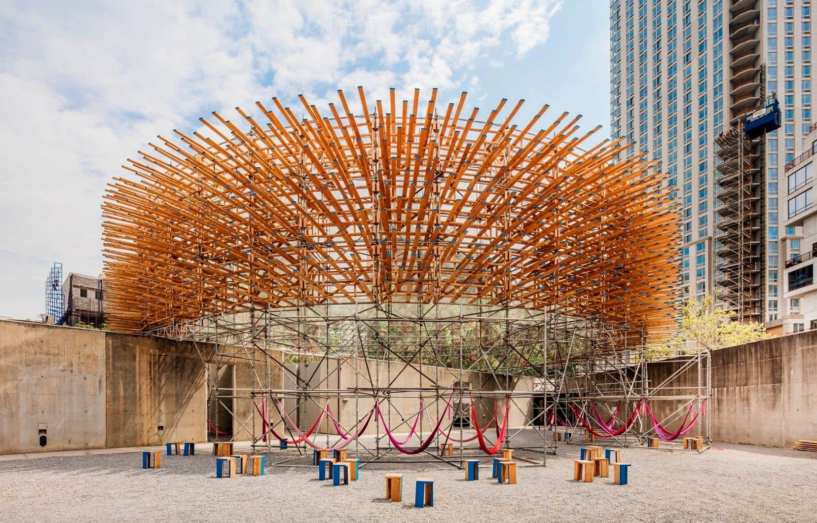 «Hórama Rama», par Ana Paula Ruiz Galindo, et Mecky Reuss de Pedro Juana, est le projet gagnant du Young Architects Program 2019 du MoMa. Un exemple à suivre.