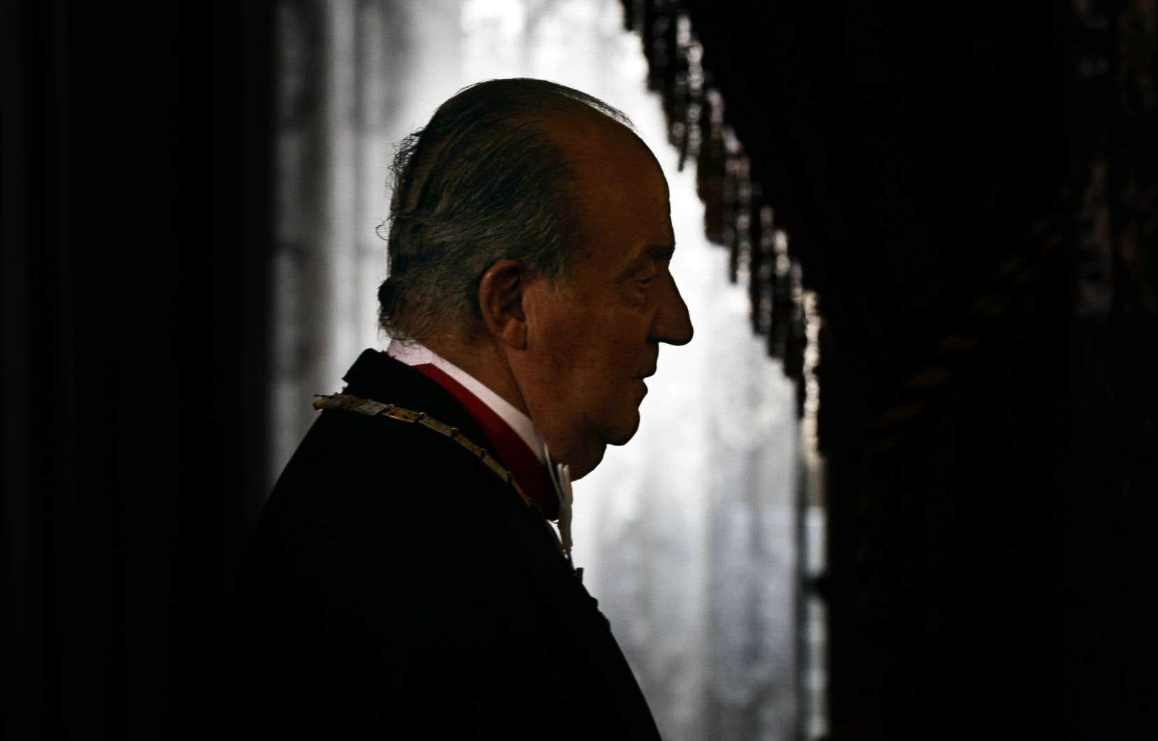 Juan Carlos a abdiqué en 2014.
