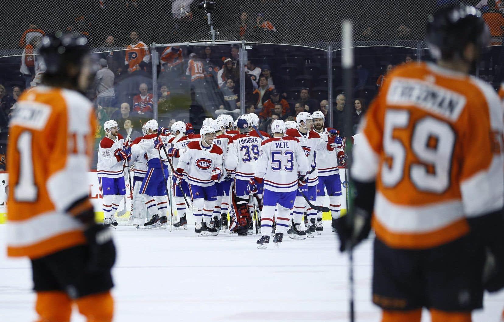 La série Canadien-Flyers, au meilleur de sept rencontres, se mettra en branle mercredi.