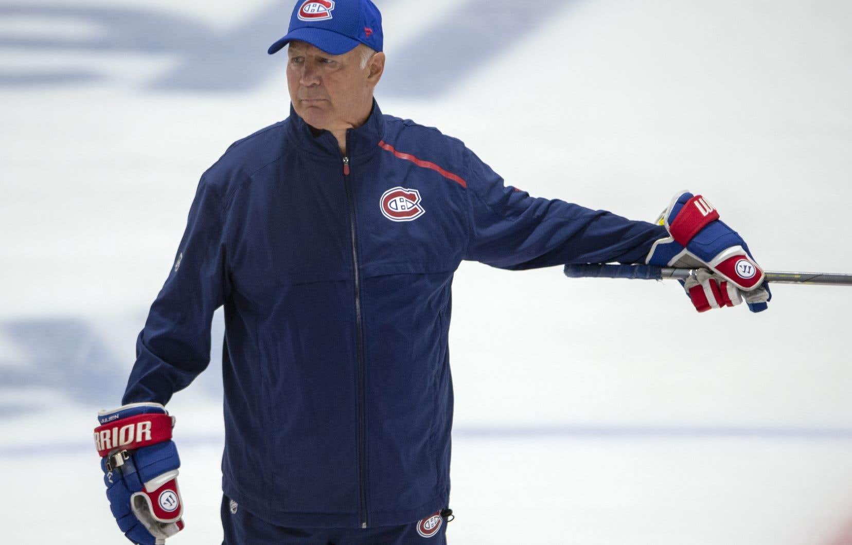 L'entraîneur-chef du Canadien de Montréal, Claude Julien