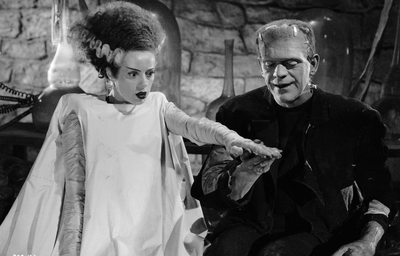 La première partition hollywoodienne (1935) de Franz Waxman est aussi l'un de ses chefs-d'œuvre: «La fiancée de Frankenstein» de James Whale. Pour créer une atmosphère angoissante et irréelle, Waxman utilisa un instrument récent: le thérémine. Ici, les acteurs Elsa Lanchester et Boris Karloff.