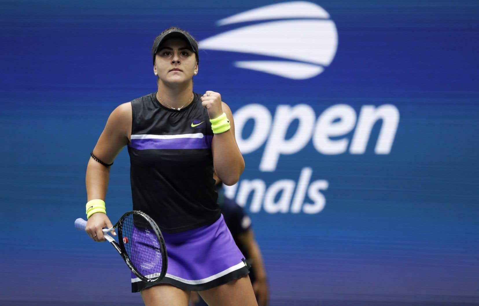 Bianca Andreescu est la championne en titre des Internationaux des États-Unis.